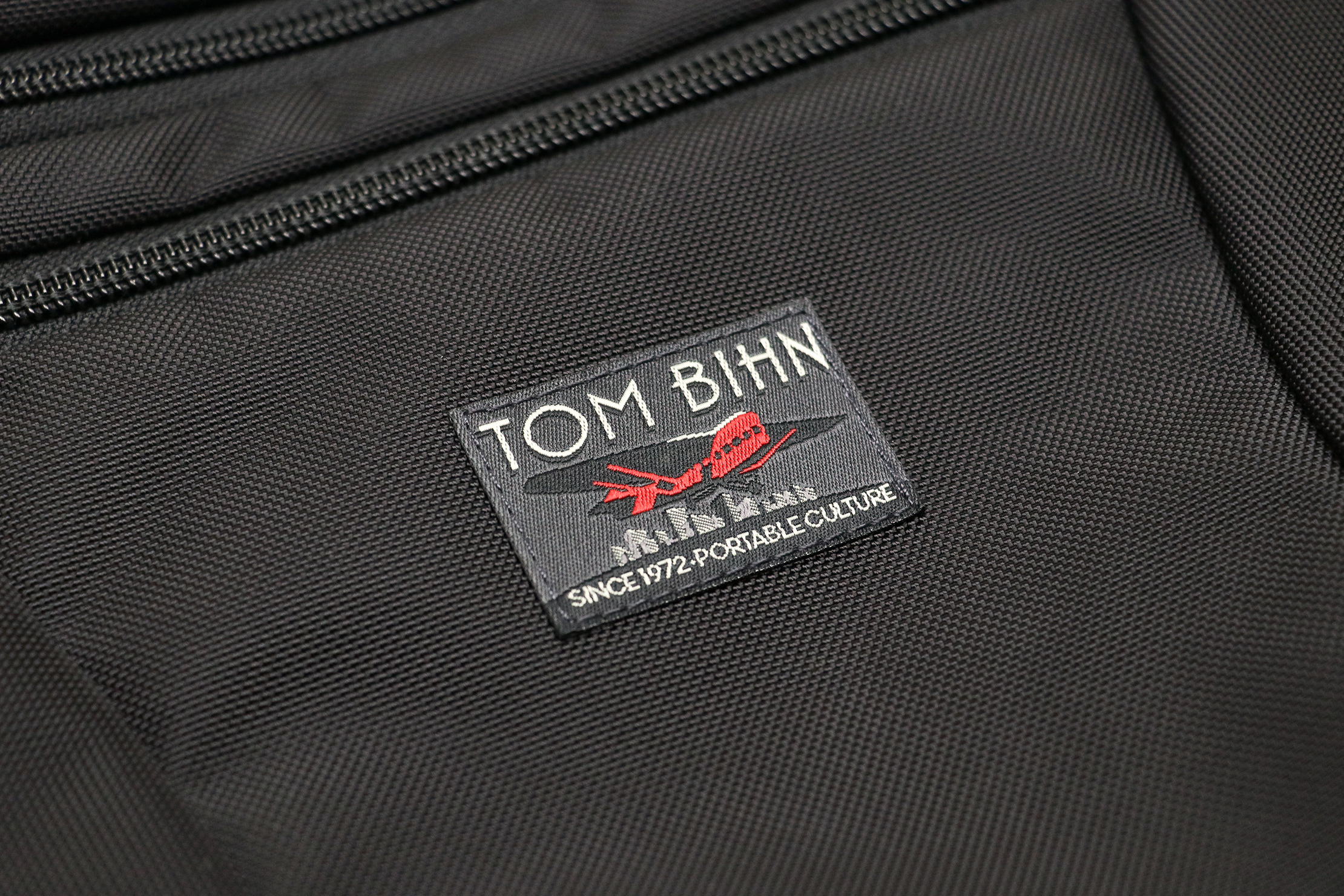 Tom Bihn Cadet Material and Logo