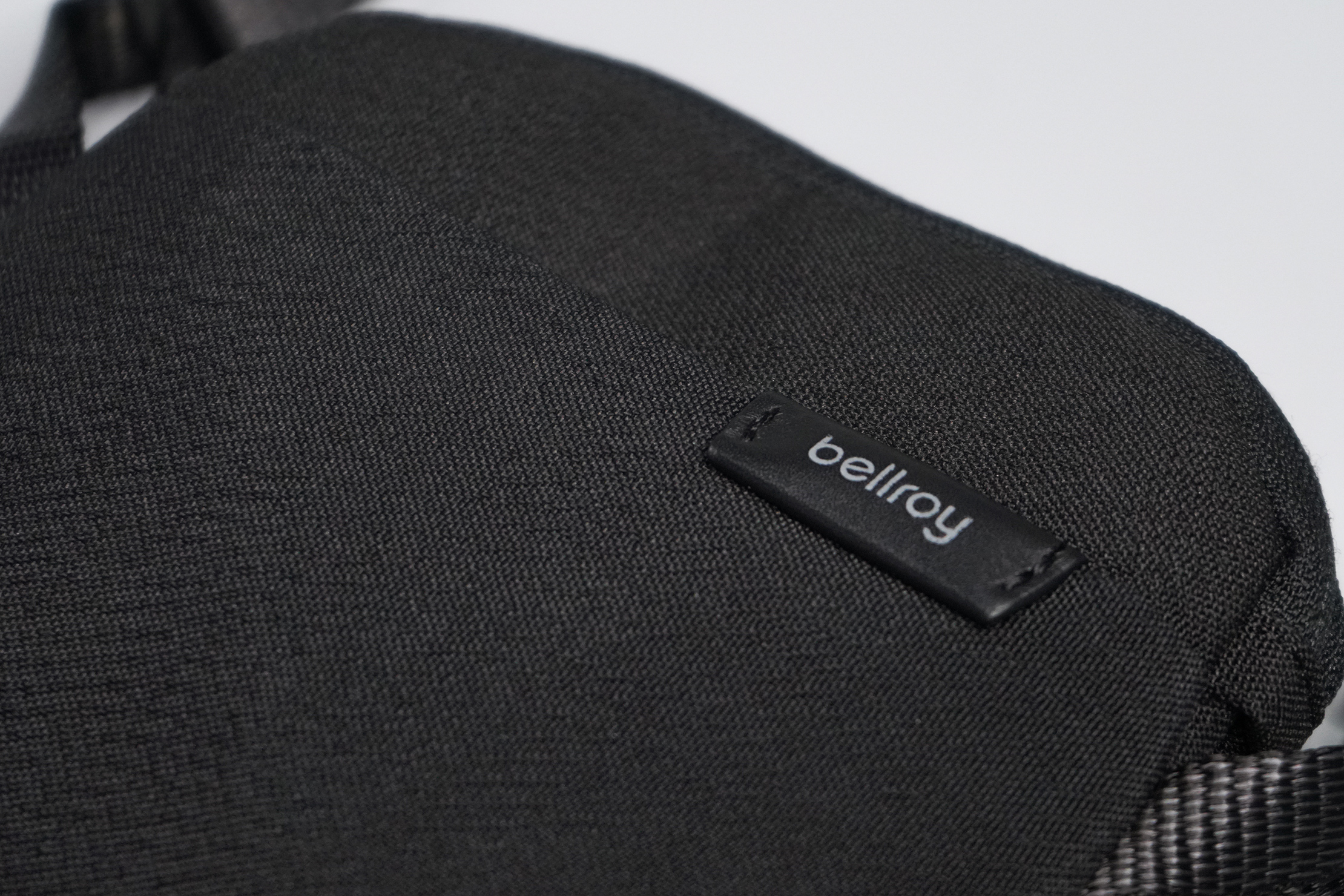 Bellroy City Pouch Material and Logo