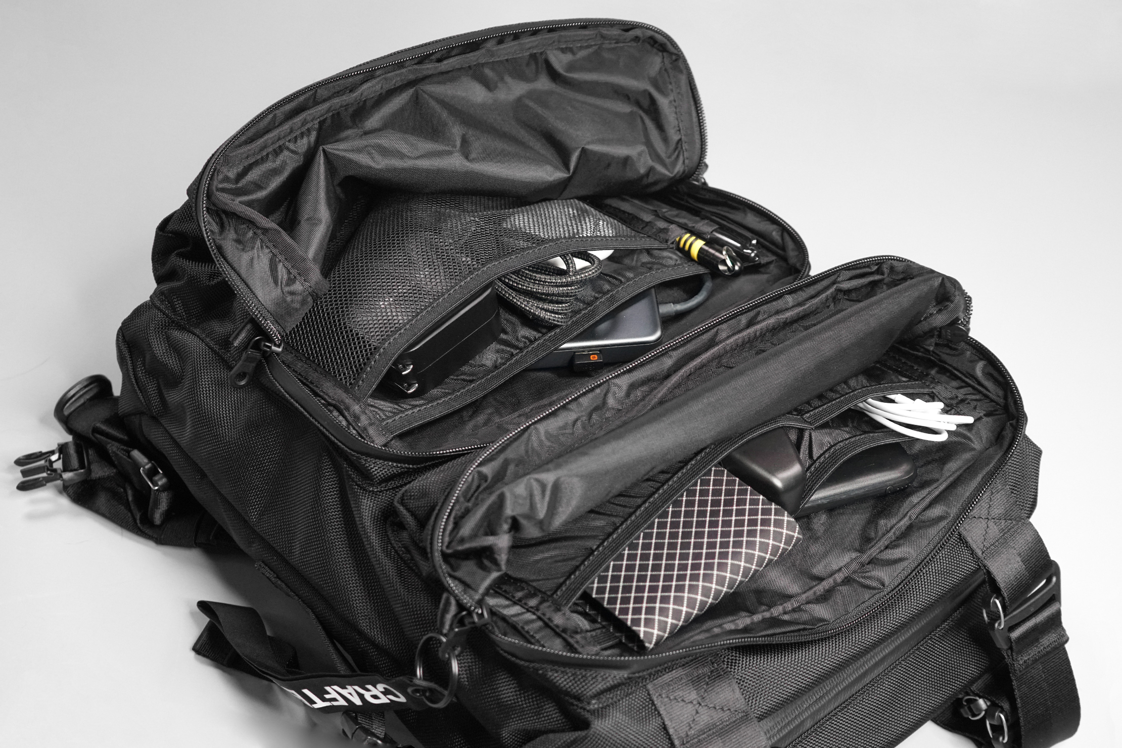 Crafted Goods SIMPLON 18L Front Pockets