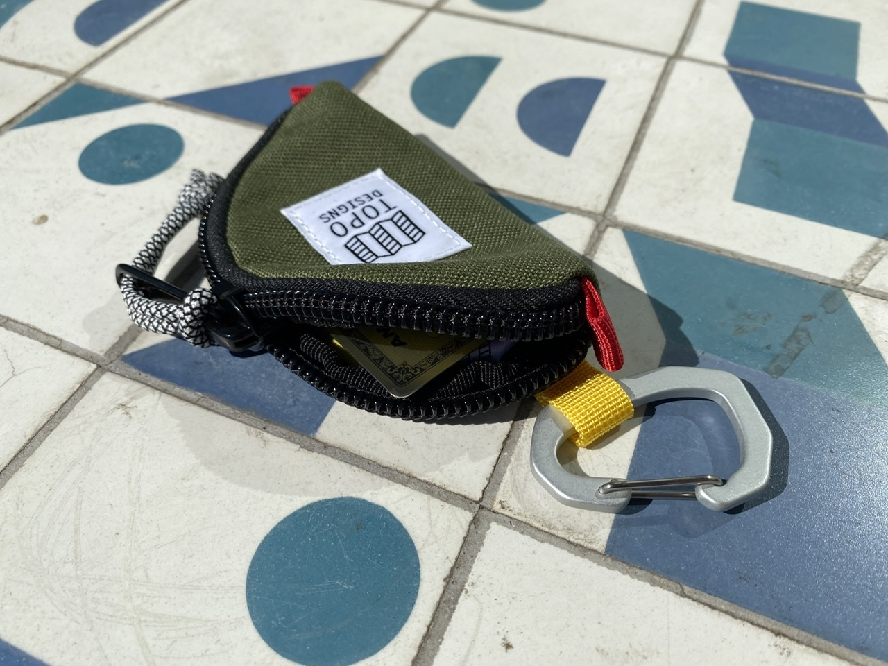 Topo Designs Taco Bag with Credit Card Inside