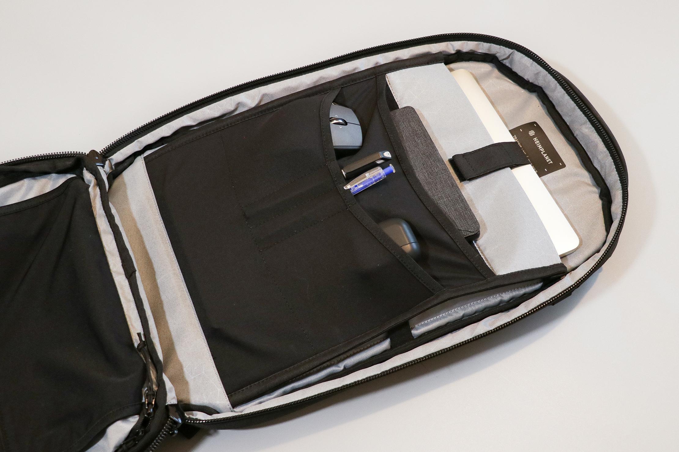 Heimplanet Travel Pack 28L (V2) Main Compartment Tech Organization