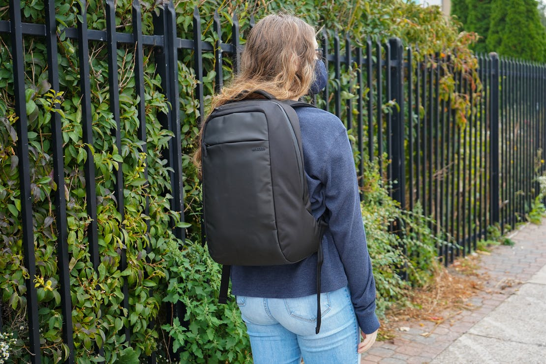 Incase ICON Lite Triple Black Backpack in Detroit