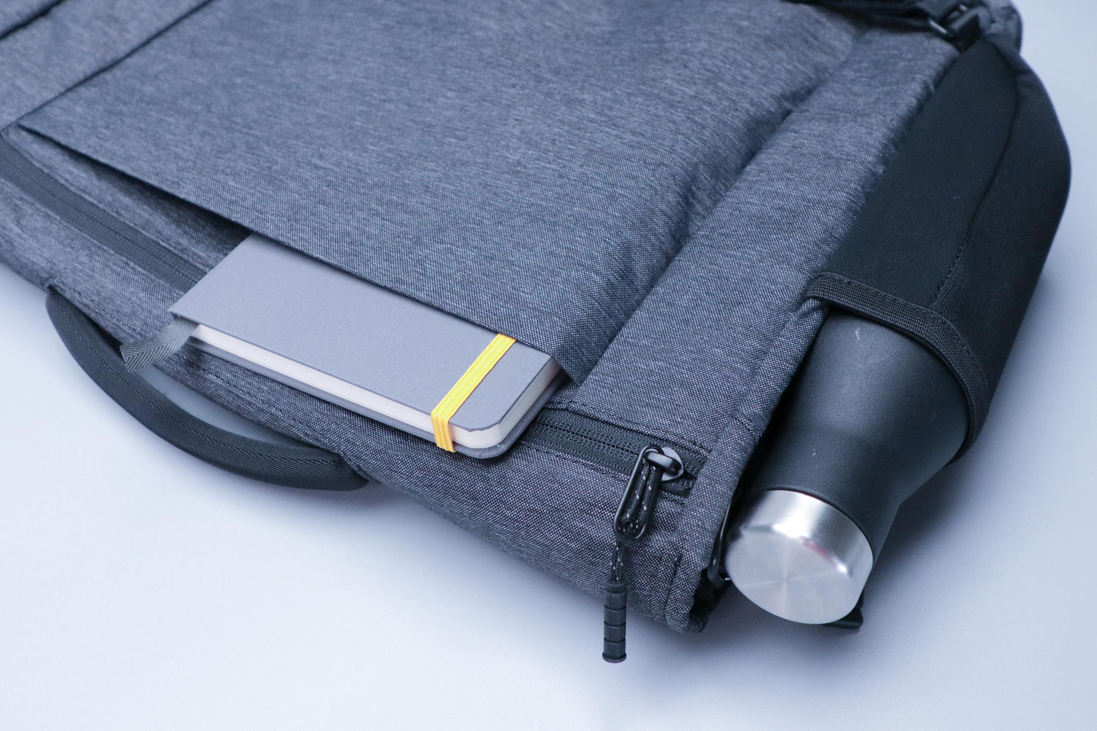 Timbuk2 Closer Laptop Briefcase Luggage Passthrough Water Bottle Pocket