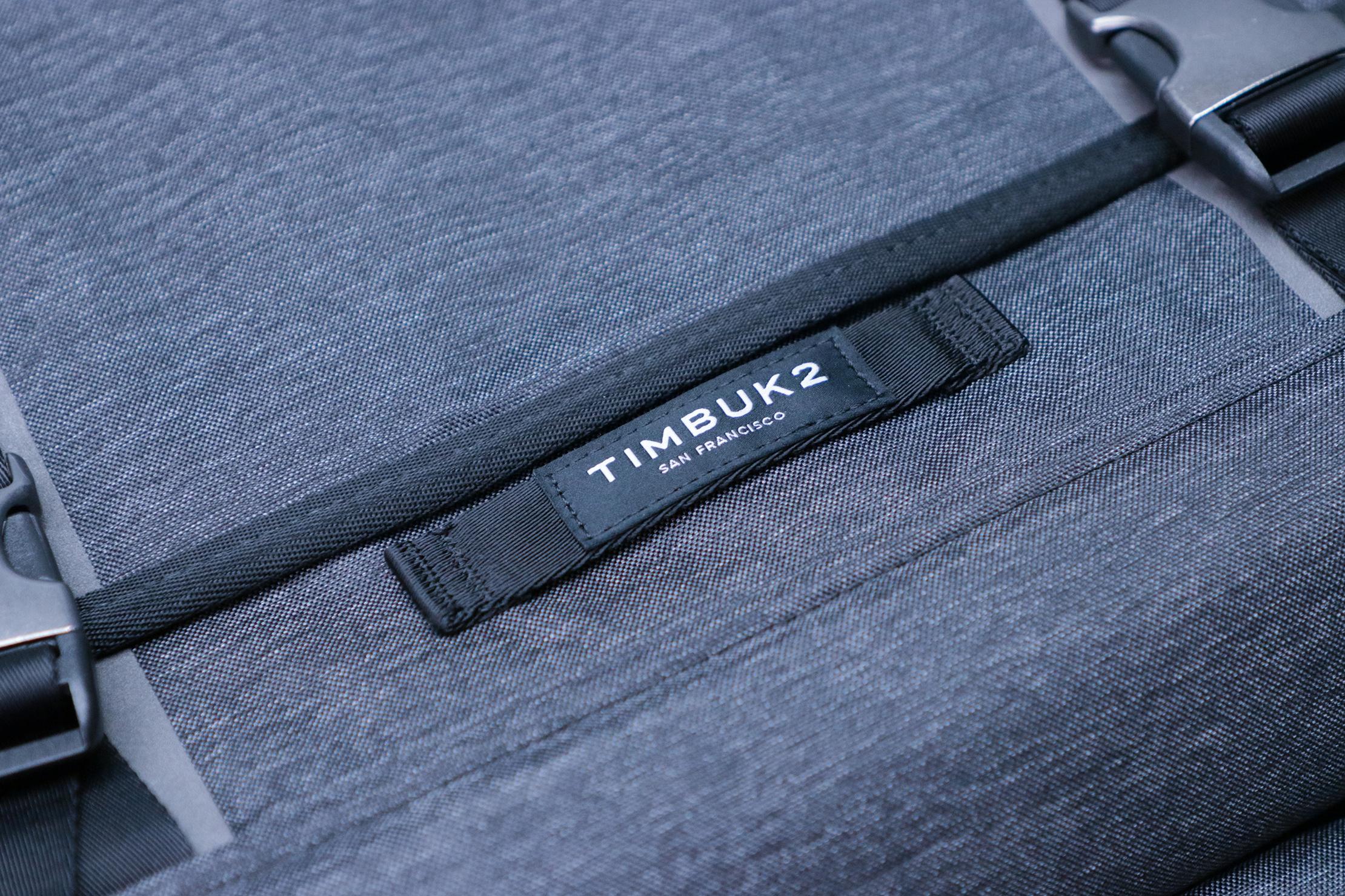 Timbuk2 Closer Laptop Briefcase Logo Material