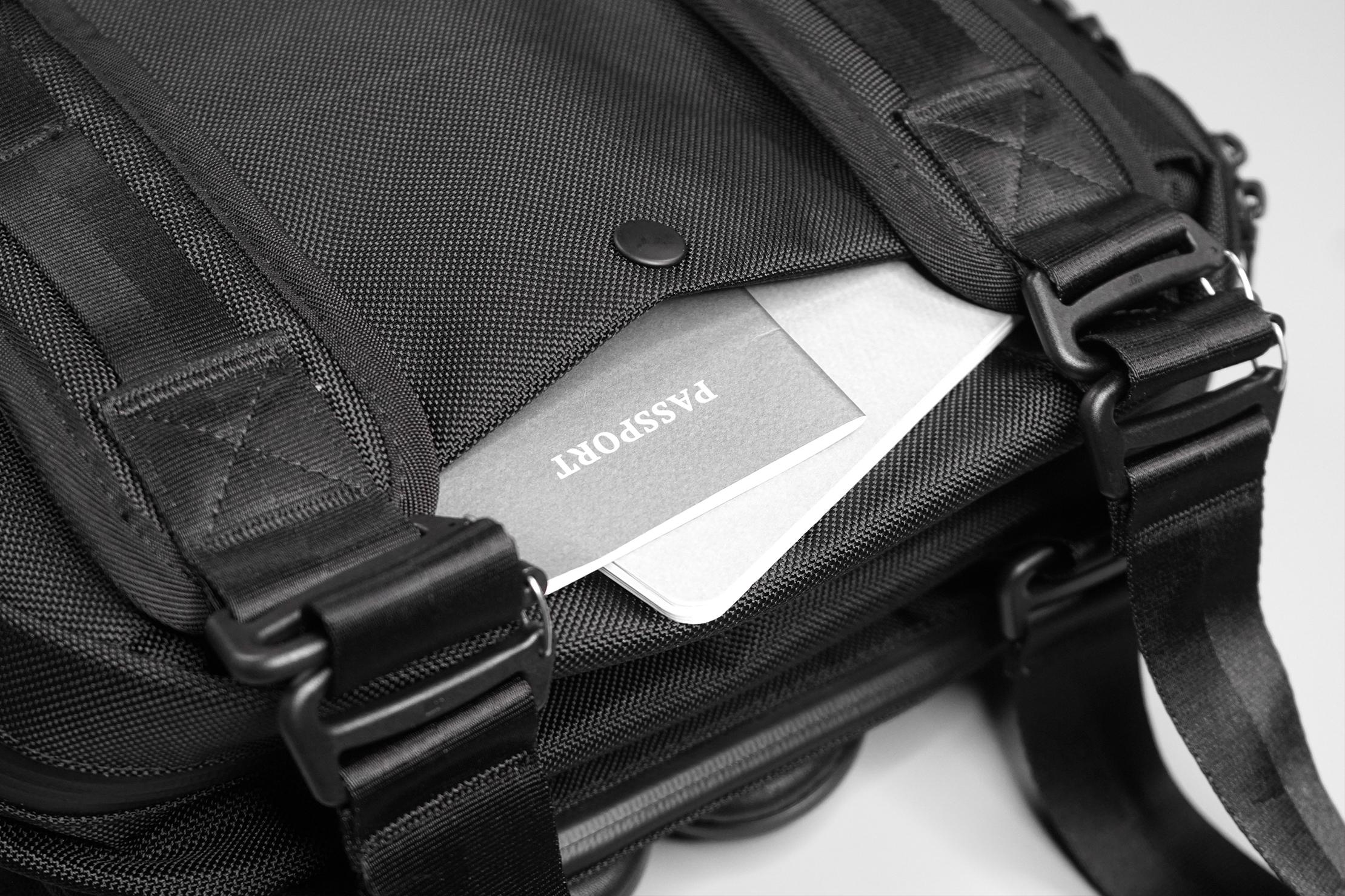 Crafted Goods SIMPLON 18L Back Pocket