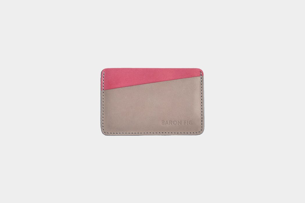 Baronfig Card Sleeve Leather Wallet