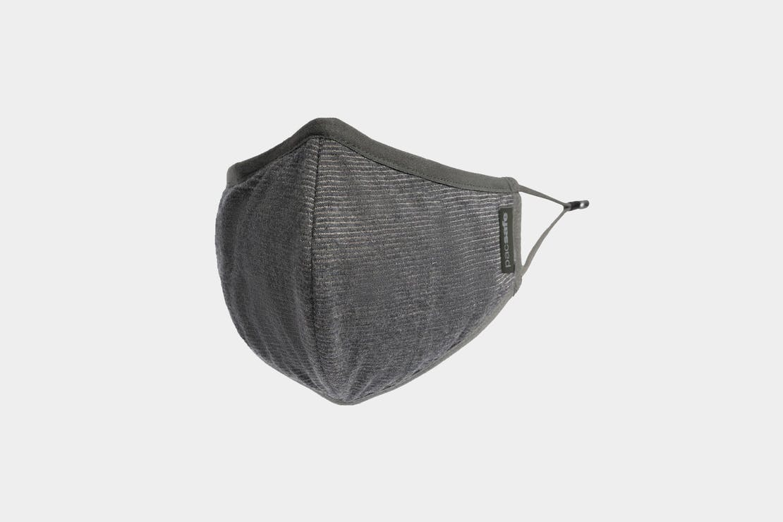 Pacsafe Protective & Reusable Silver iON Face Mask