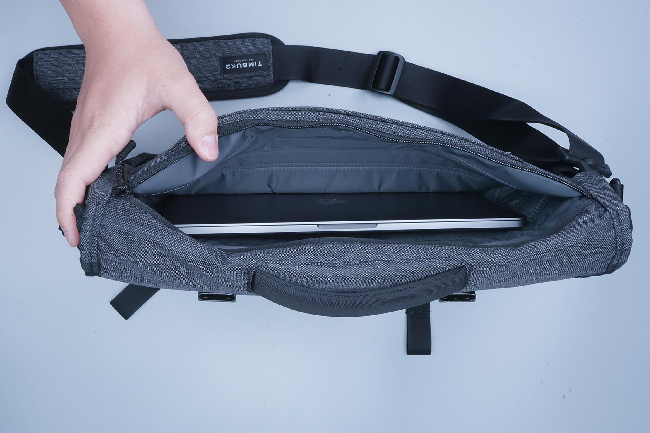 Timbuk2 Closer Laptop Briefcase Top Down Laptop Sleeve