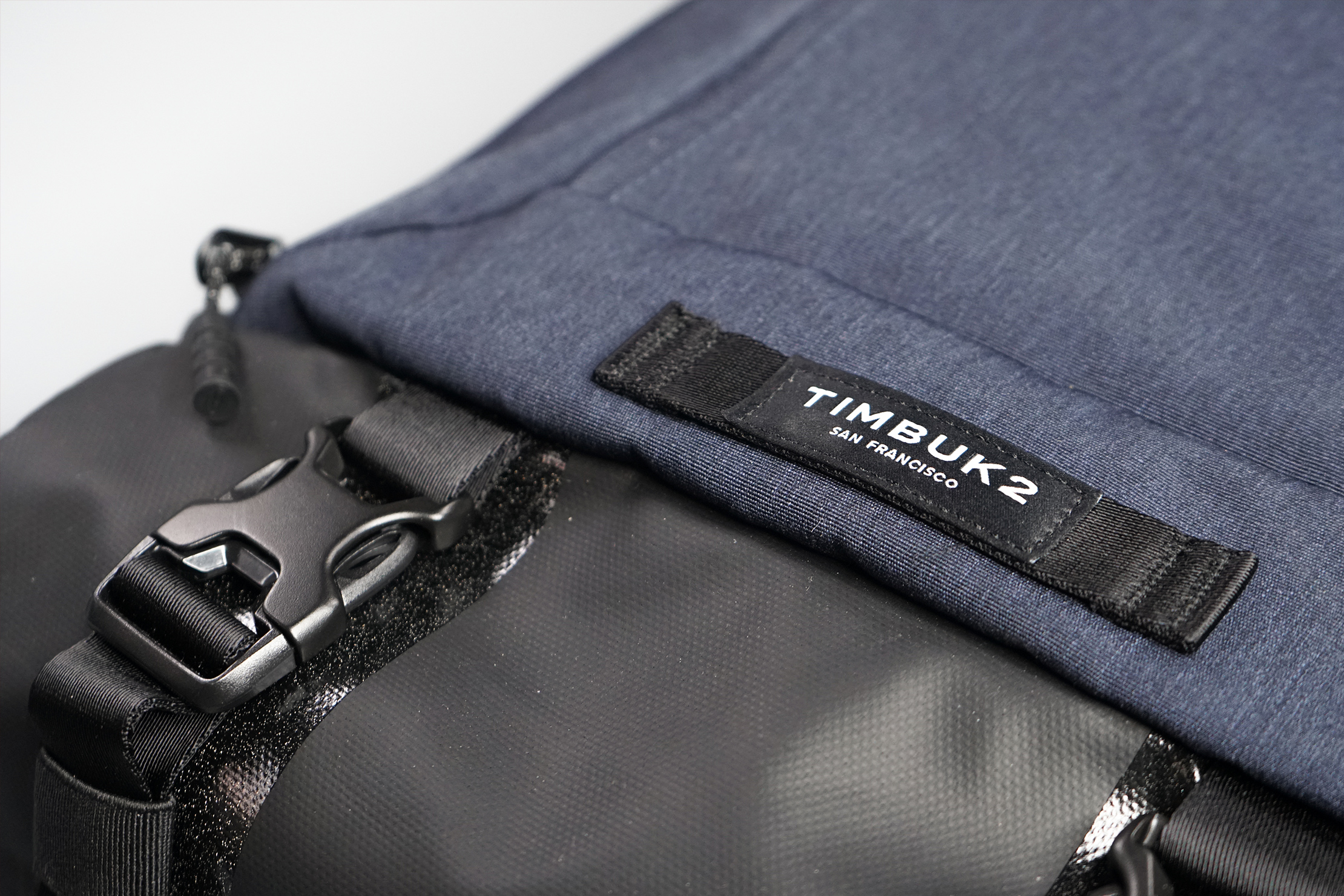 Timbuk2 Authority Laptop Backpack Material and Logo