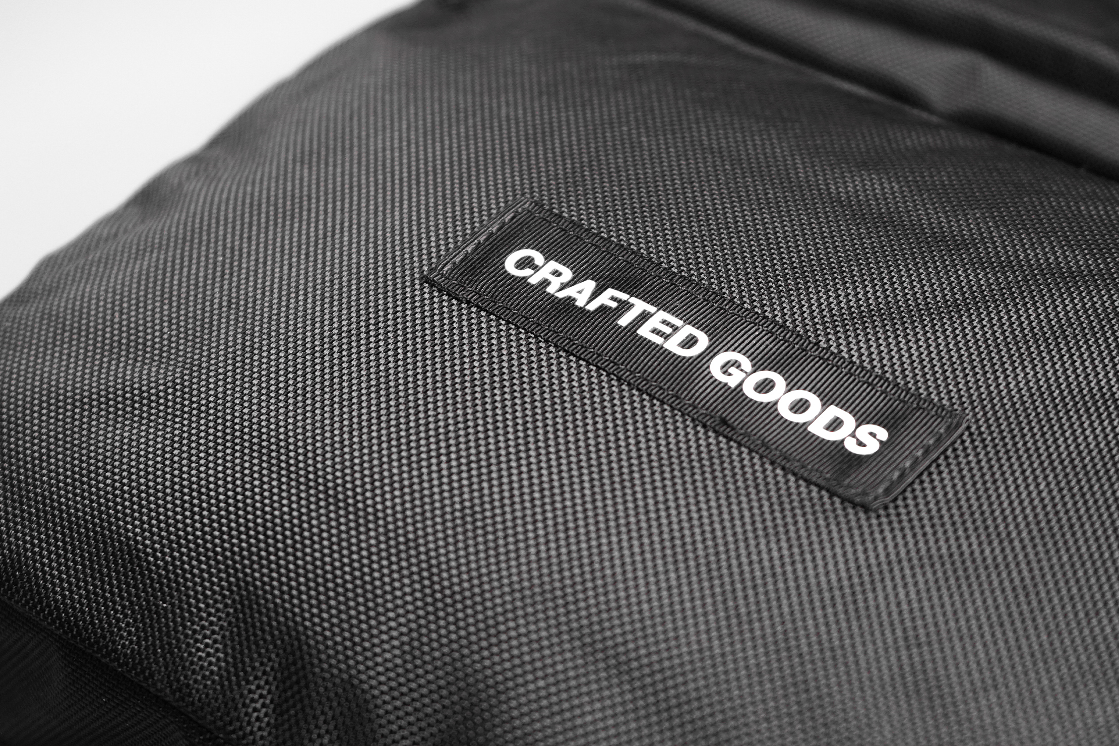 Crafted Goods SIMPLON 18L Material and Logo