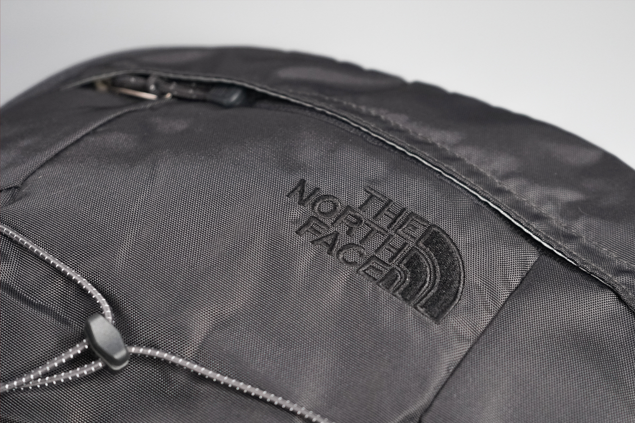 The North Face Borealis Backpack Material and Logo
