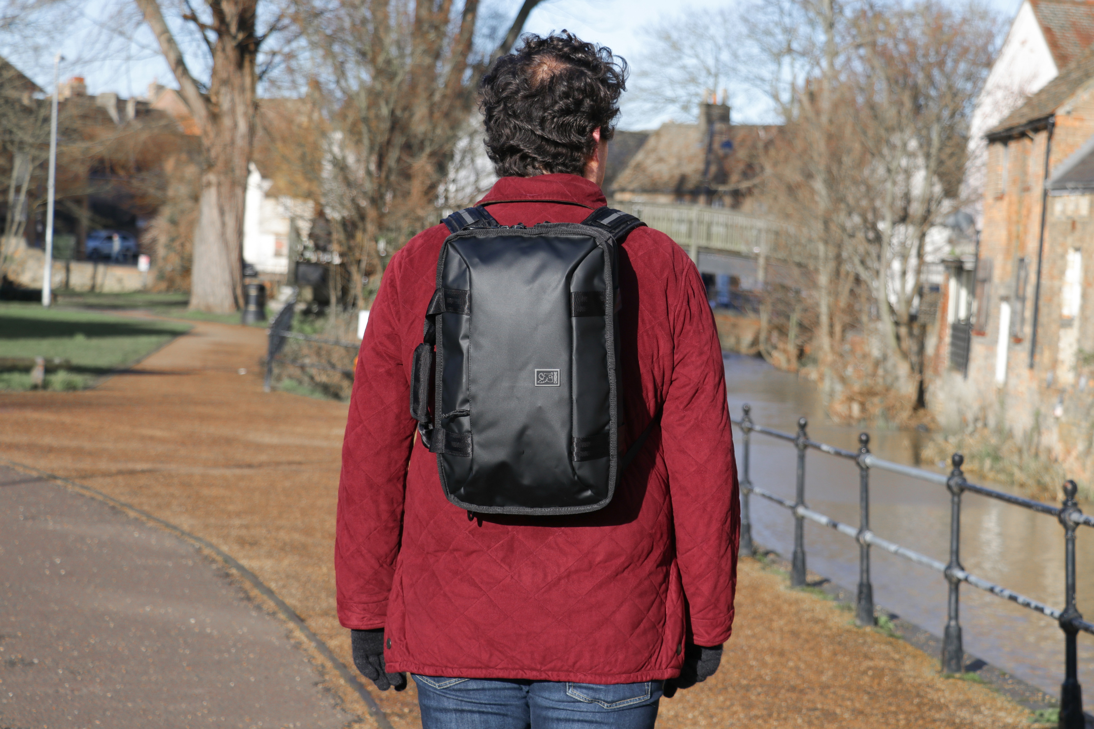 Chrome Industries Vega 2.0 Transit Brief   It works as a backpack too