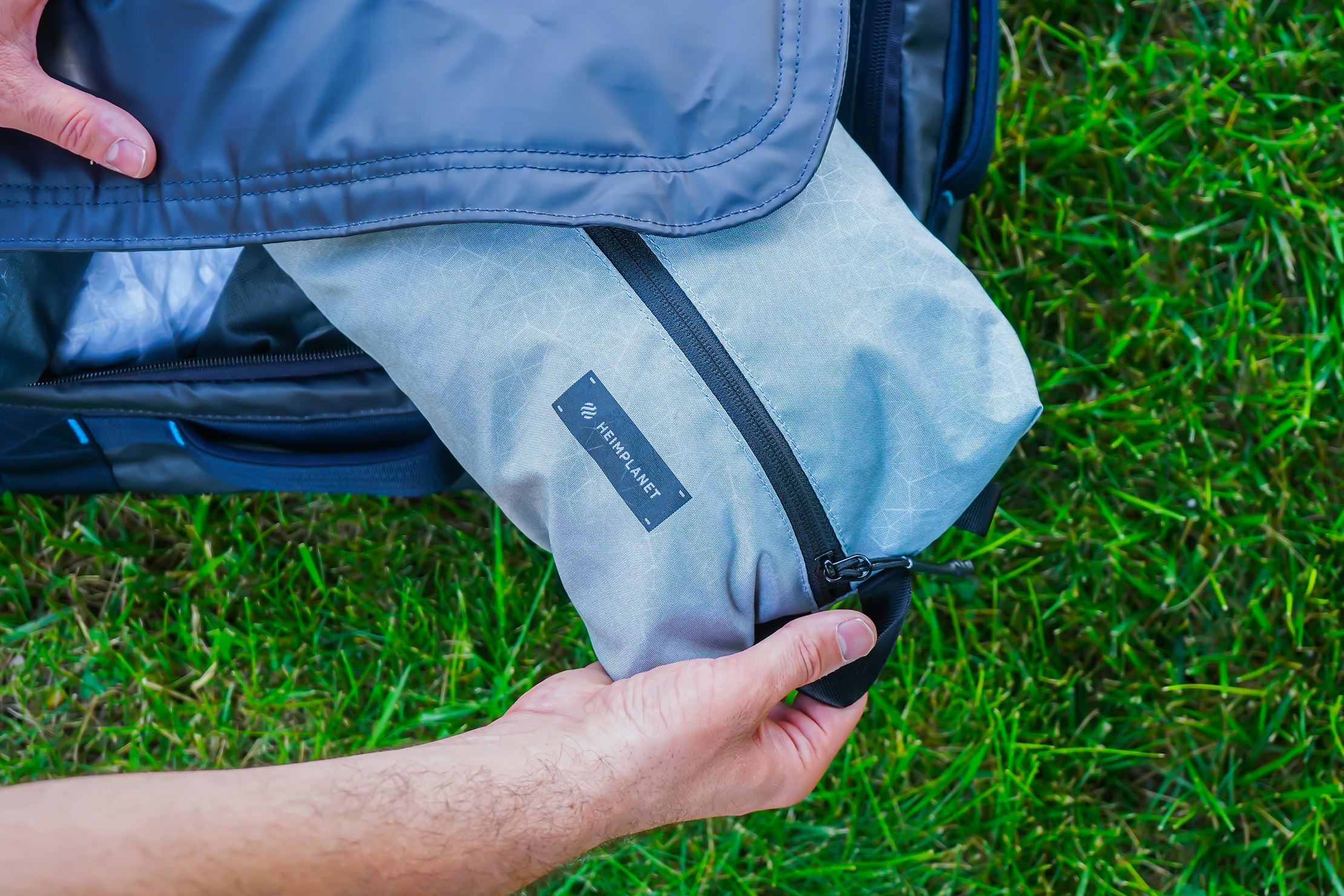 Heimplanet Packing Cubes Usage 2