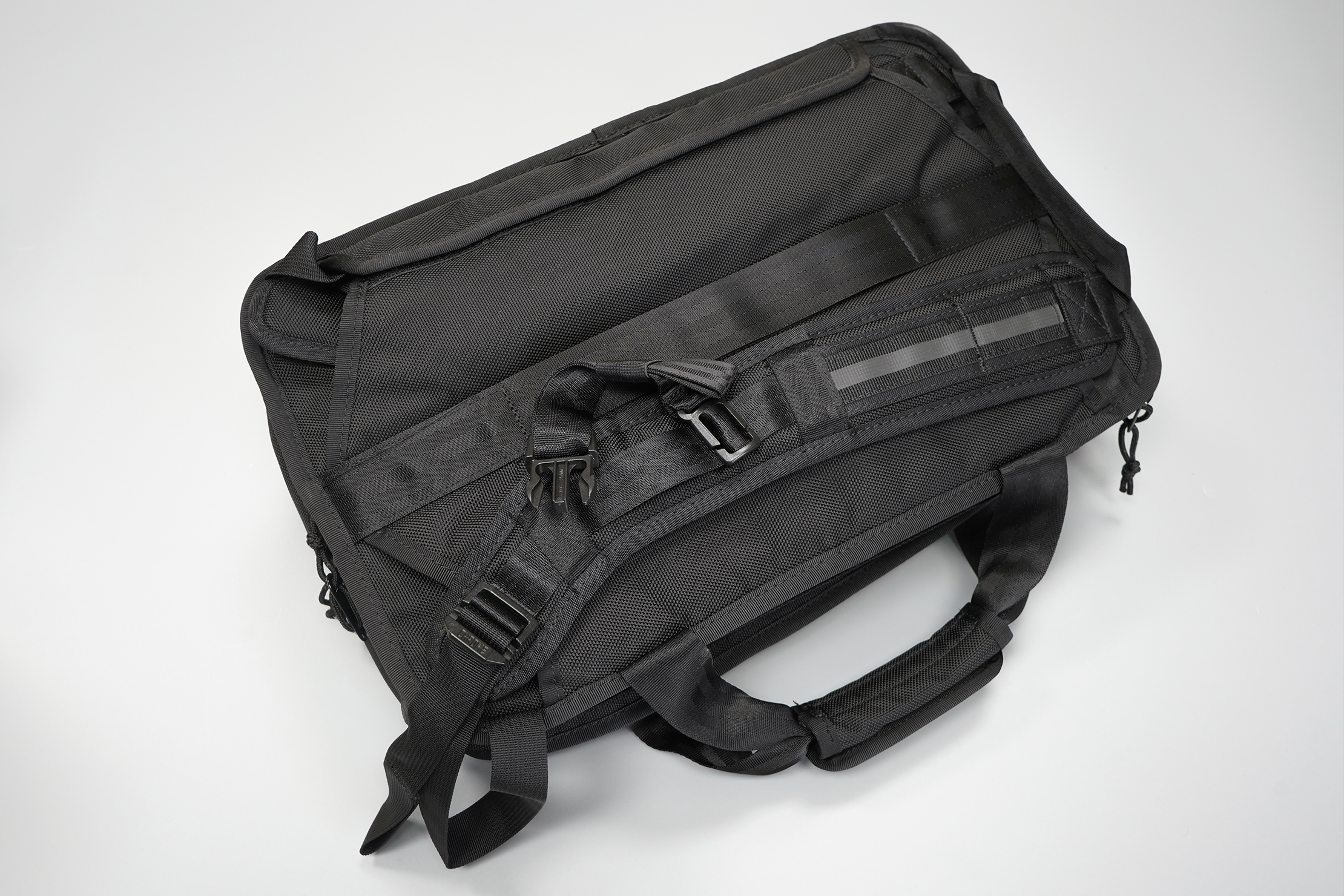 Chrome Industries Vega 2.0 Transit Brief   This harness system stows away completely out of sight when not in use