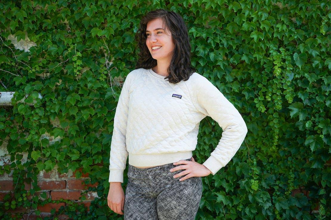 Patagonia Organic Cotton Quilt Crew Sweater