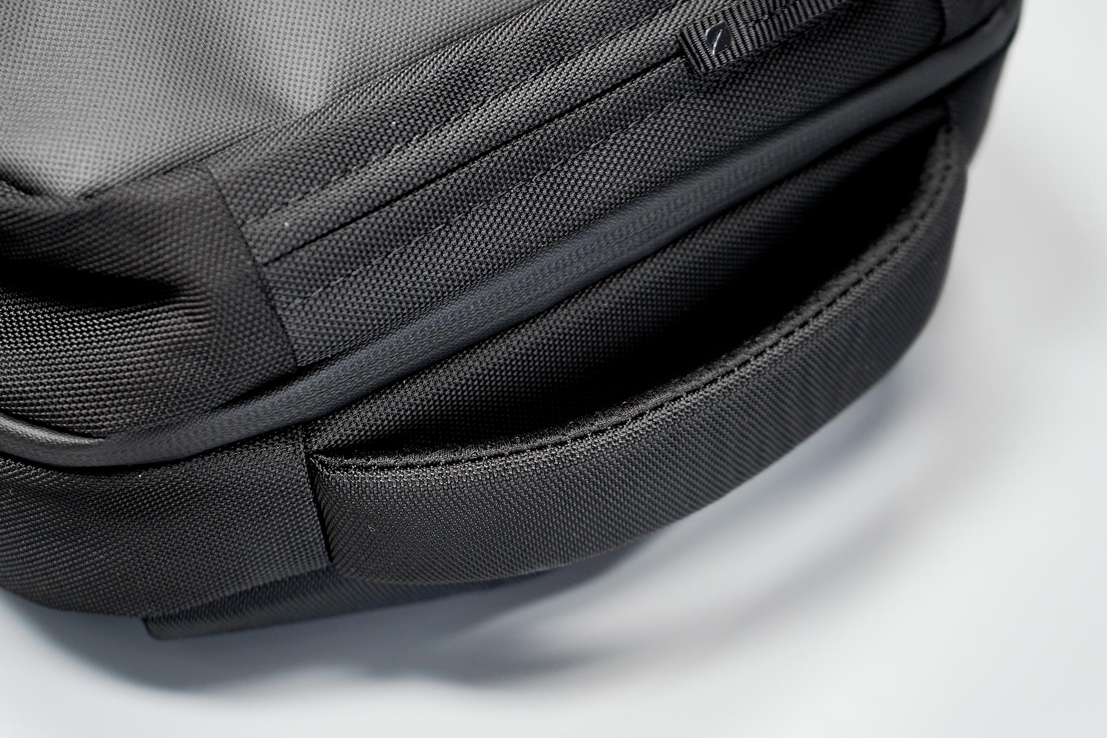 Incase ICON Lite Triple Black Backpack Handle