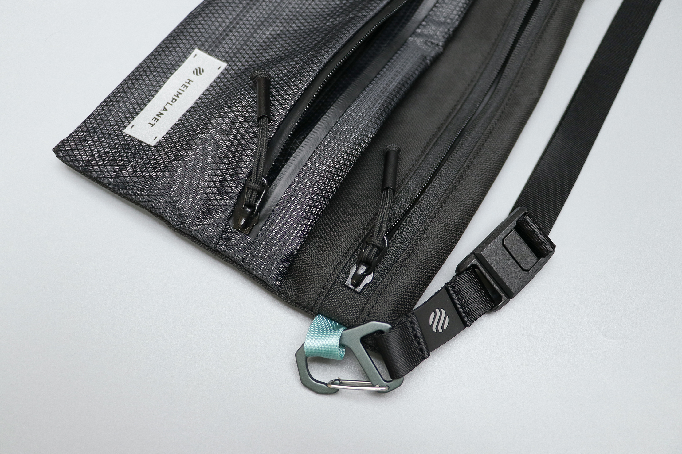 Heimplanet Neck Pouch A5 Zippers and Hardware
