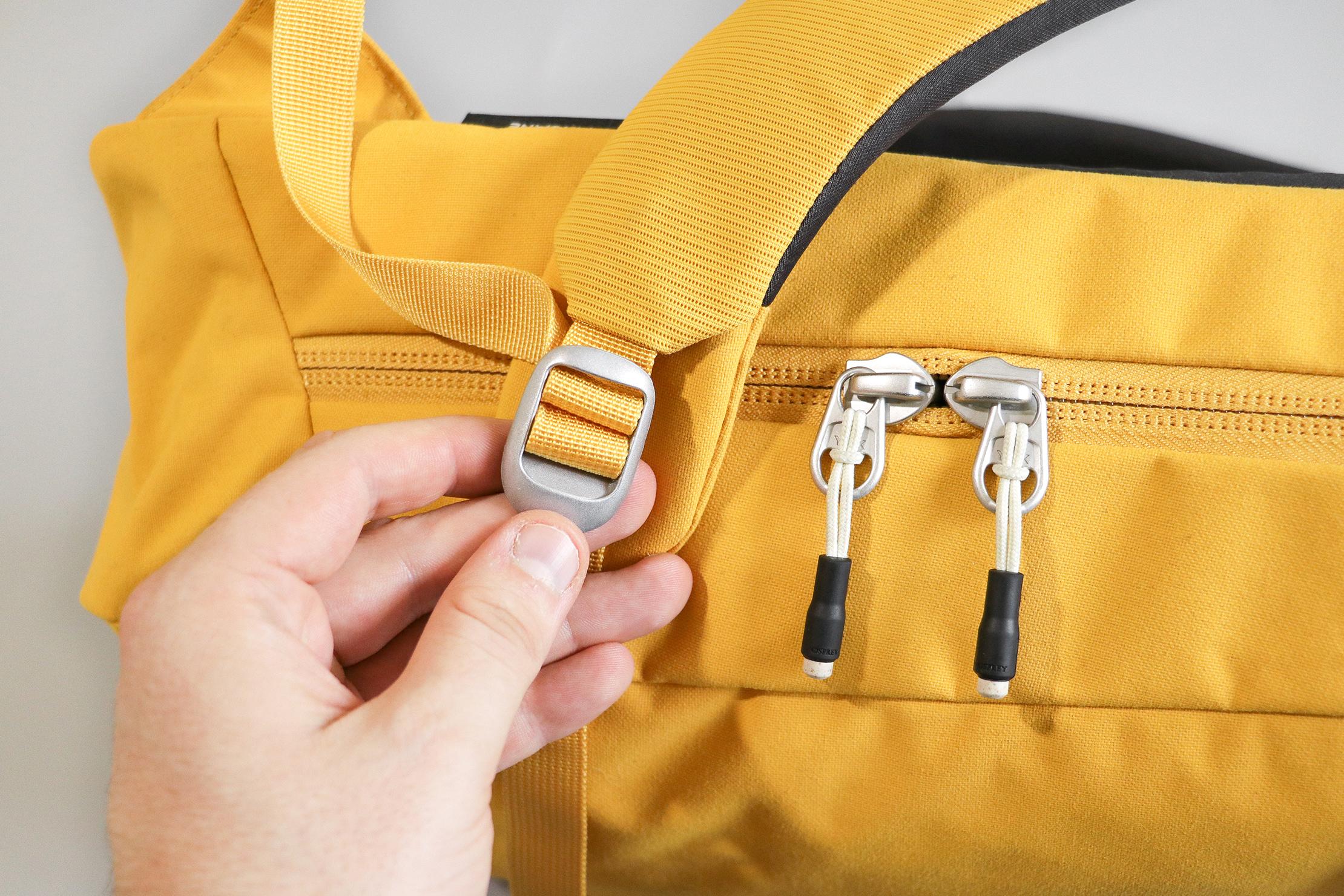 Osprey Arcane Large Day Pack (V2) Zippers and Hardware
