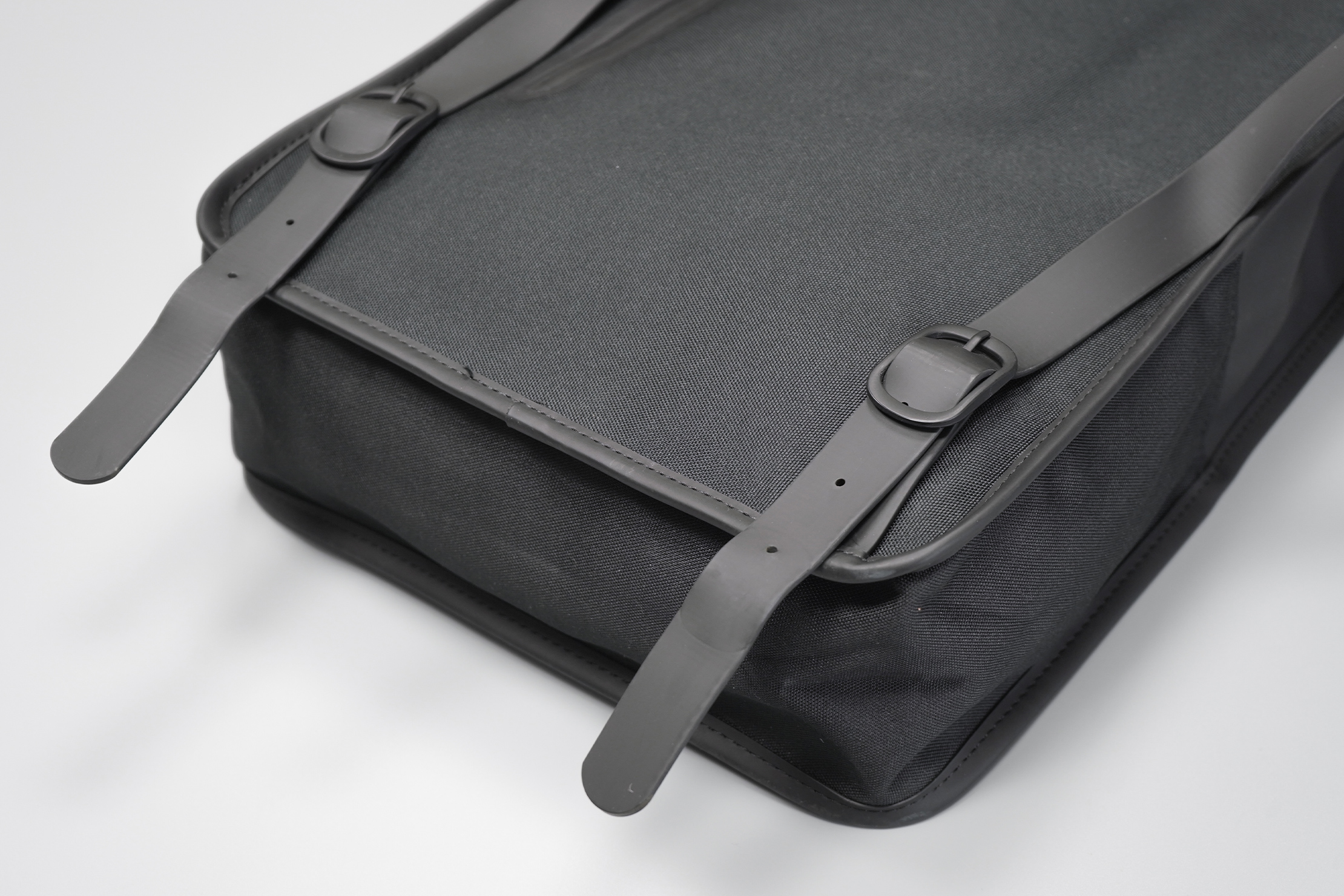 Rains Backpack | It's not our preferred method, though it goes well with the aesthetic
