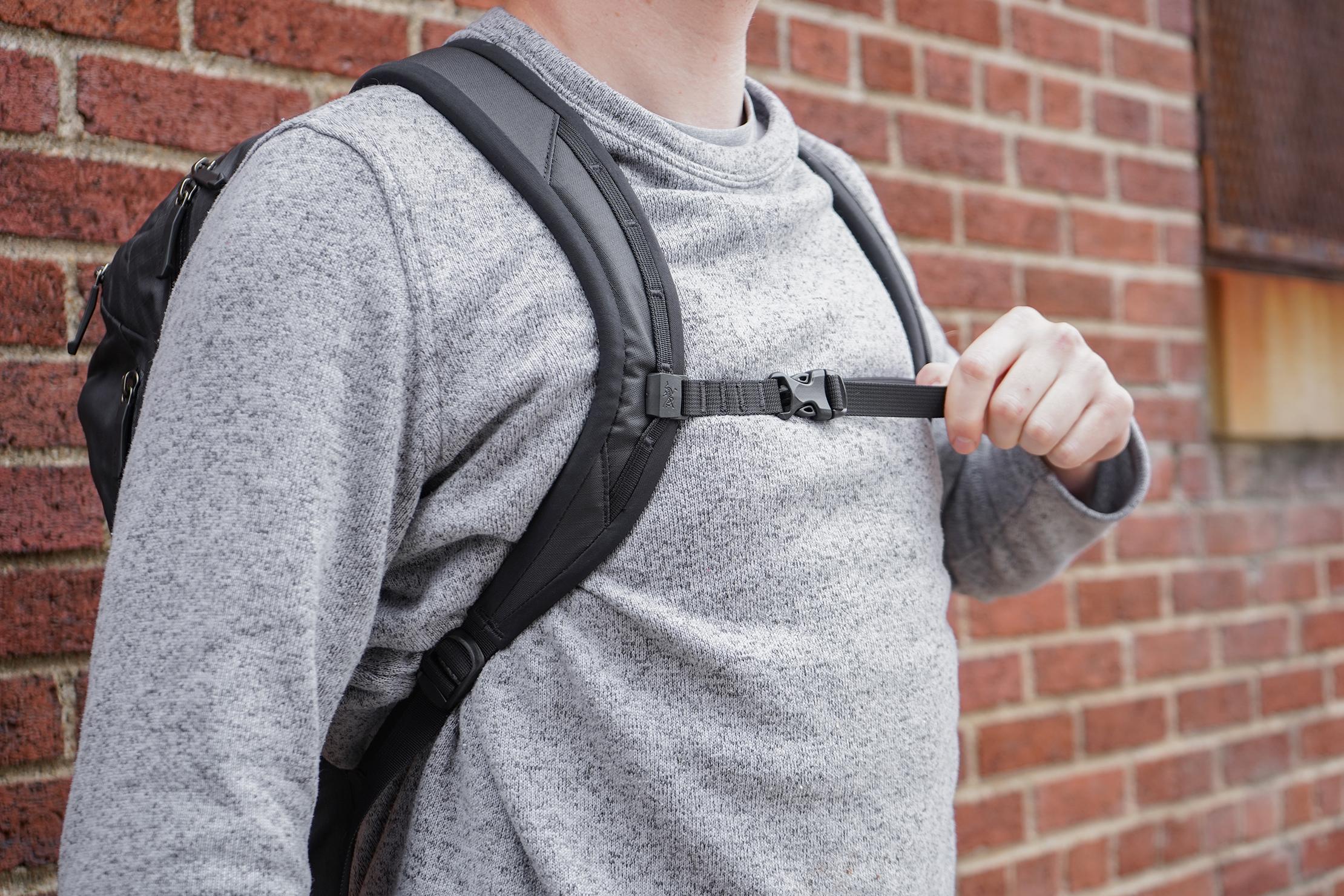 Arc'teryx Granville 16L Zip Backpack Shoulder Straps and Sternum Strap