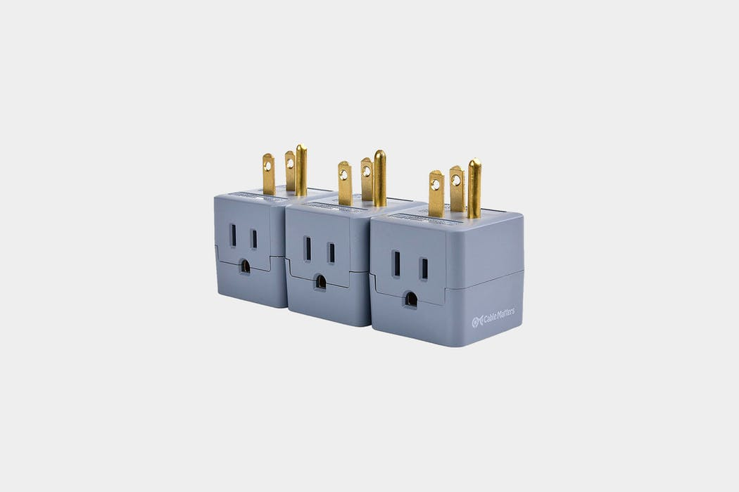 Cable Matters 3-Pack Grounded Power Cube