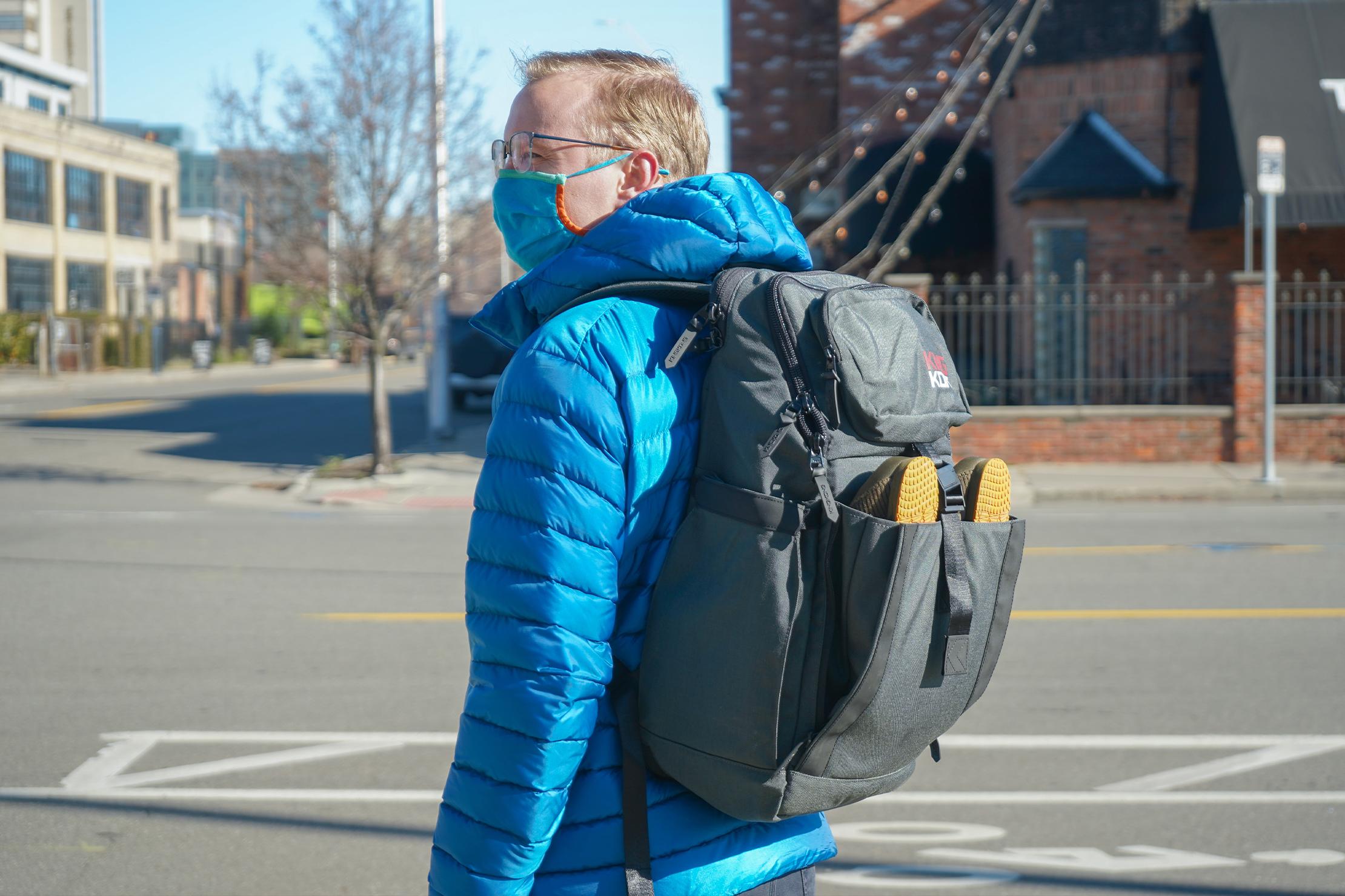 King Kong Apparel PLUS26 Backpack in Detroit