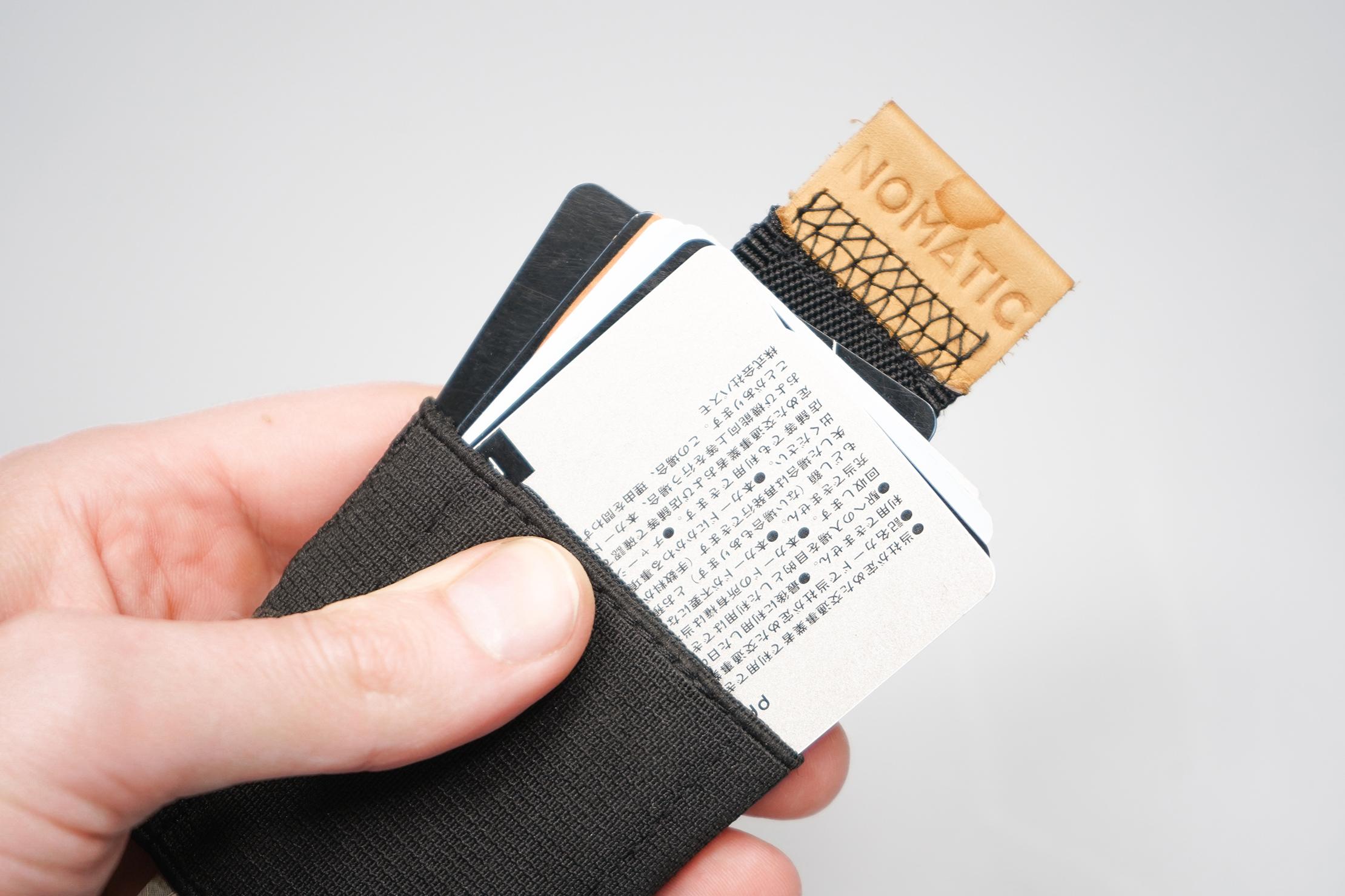 NOMATIC Wallet Card Slot
