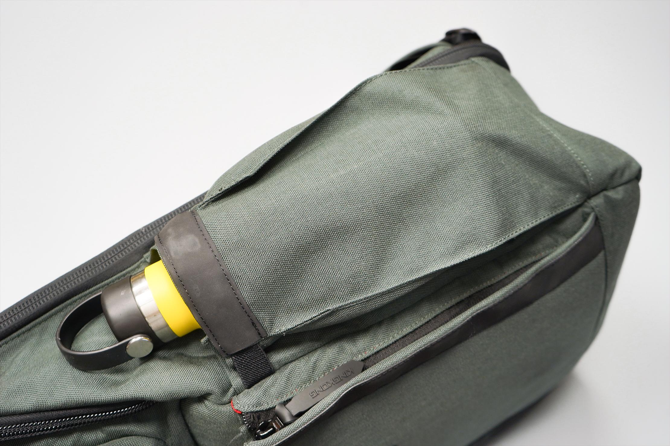 King Kong Apparel PLUS26 Backpack Water Bottle Pocket