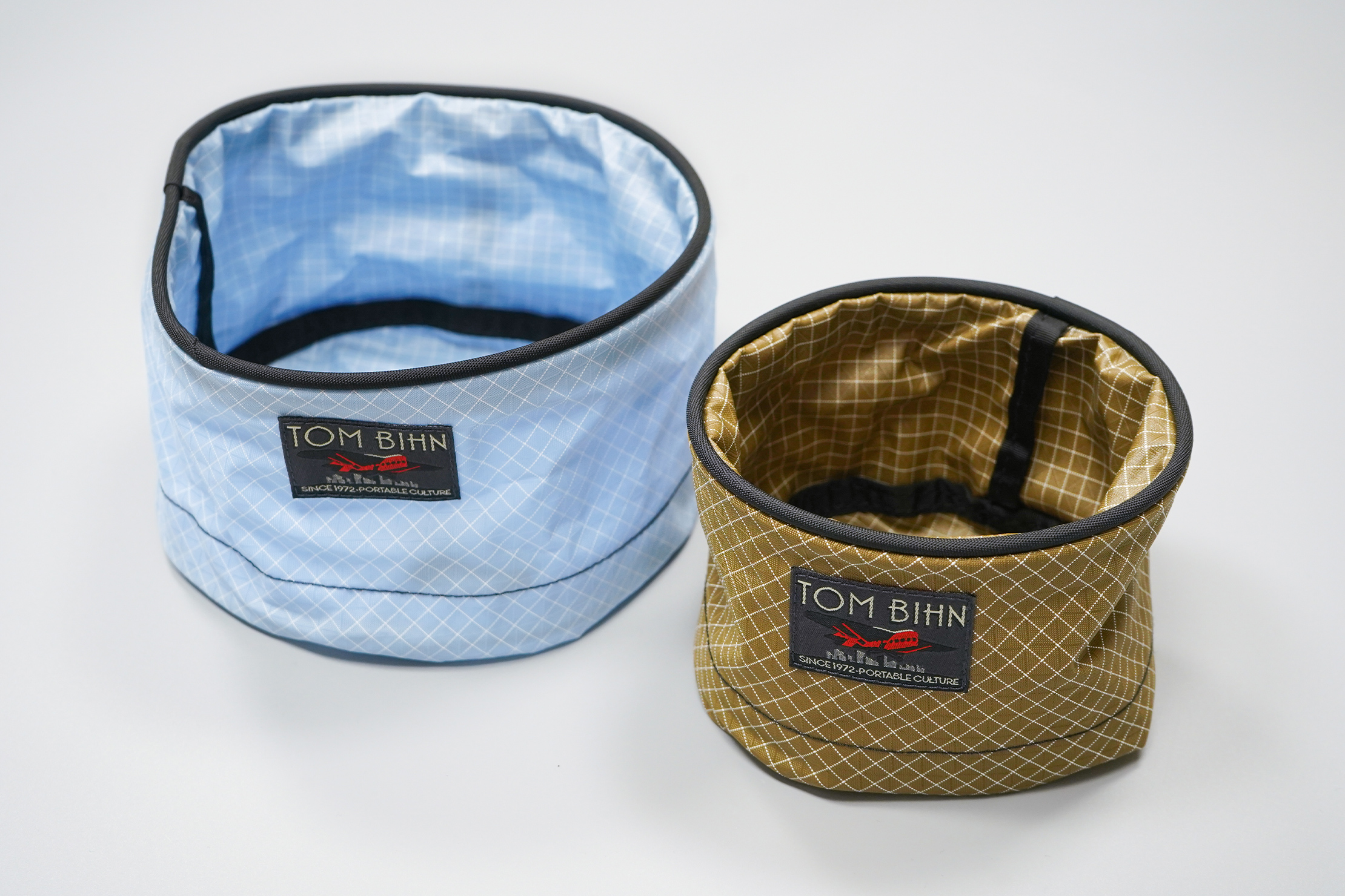 Tom Bihn Travel Tray | Left: Large size | Right: Small size