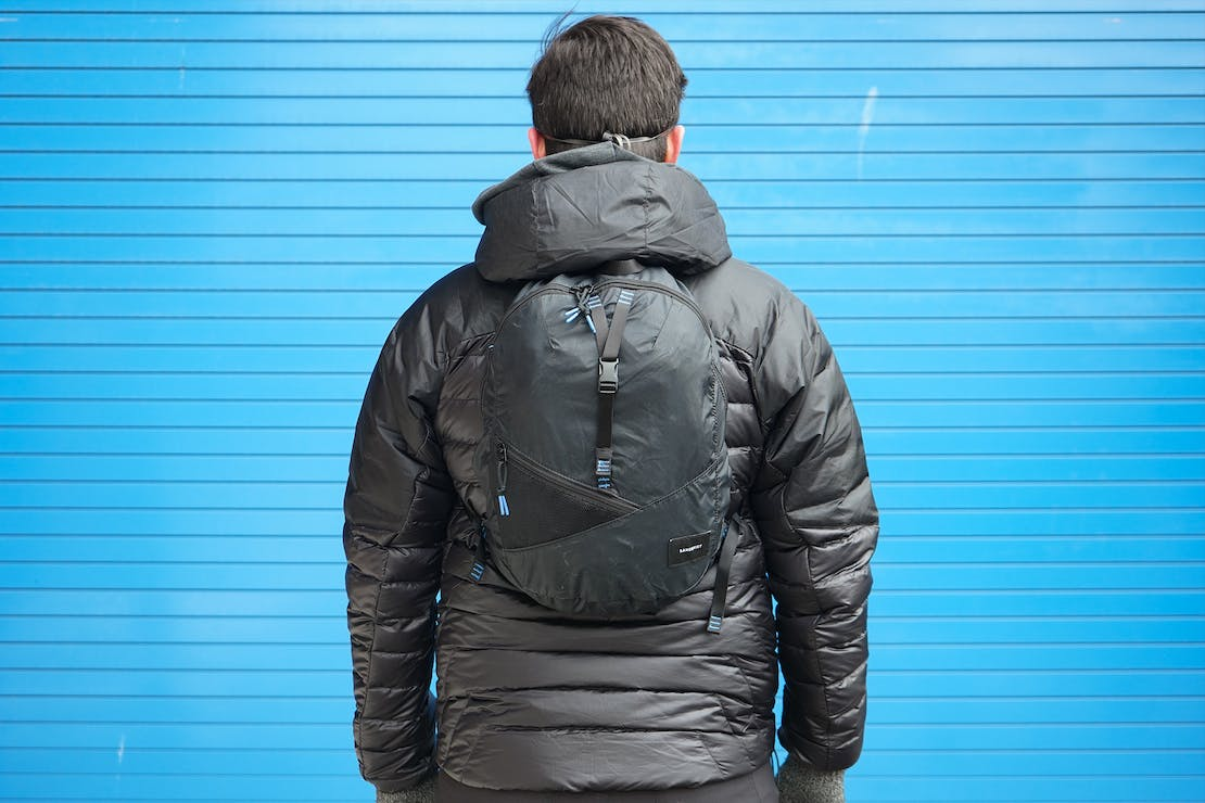 Sandqvist Erland Packable Ziptop Backpack | Using the backpack in Detroit