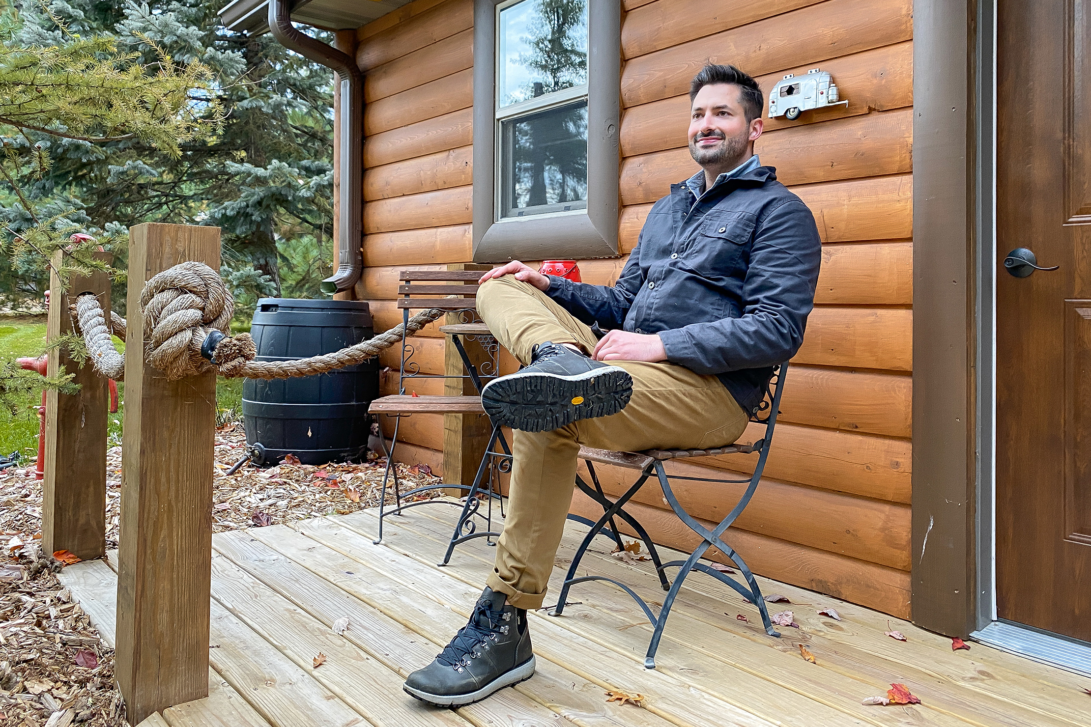 Sitting by the Cabin | Fall Essentials with Huckberry