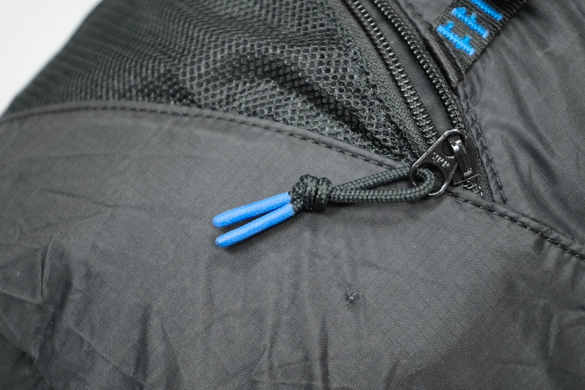 Sandqvist Erland Packable Ziptop Backpack | The CORDURA Ripstop Nylon does its job and stopped the hole from getting bigger