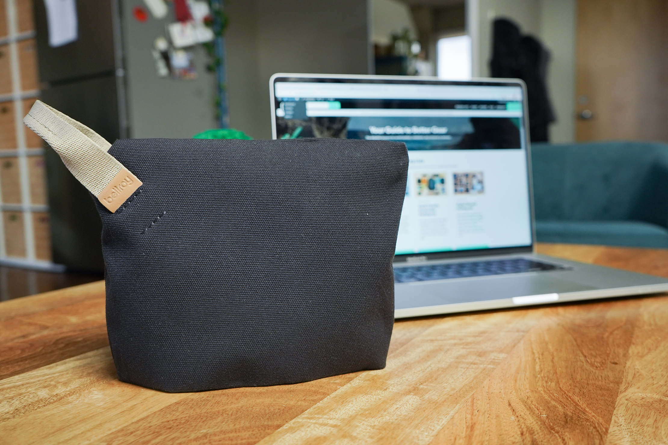 Bellroy Standing Pouch | It's tall, but slim from the sides