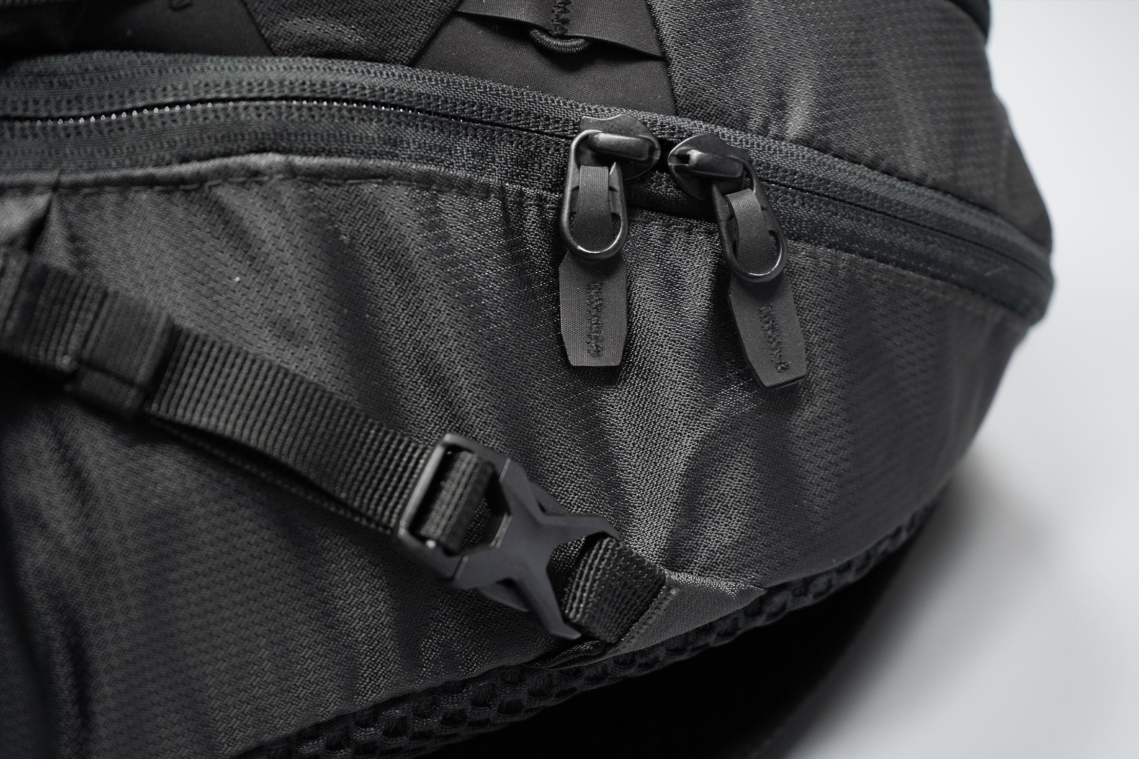 Matador Beast18 Zippers and Hardware