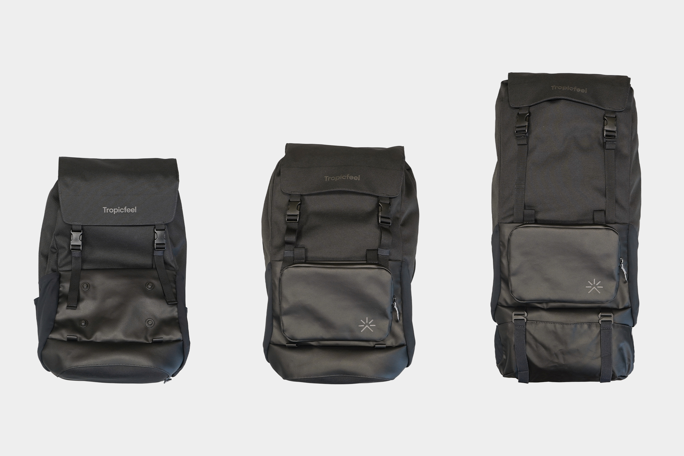Tropicfeel Shell Travel Backpack | Three capacity modes for the proper occasion