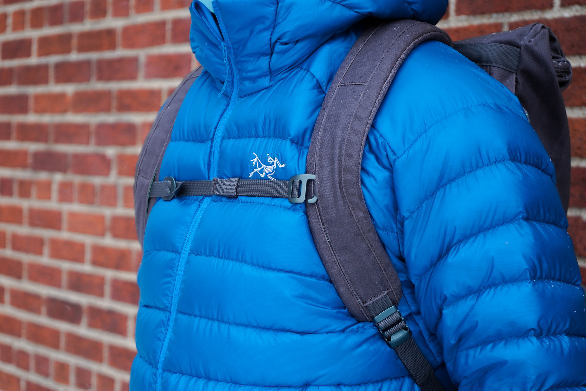 Millican Smith Roll Pack 18L   An adjustable sternum strap for added support
