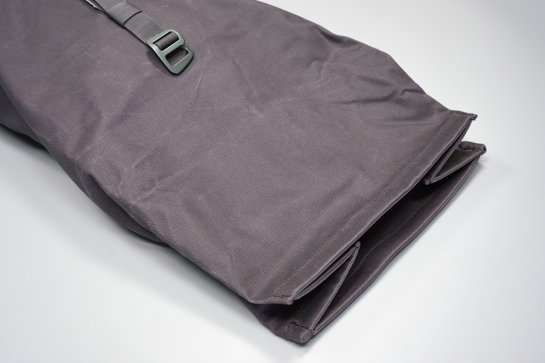 Millican Smith Roll Pack 18L   The top roll unfurled