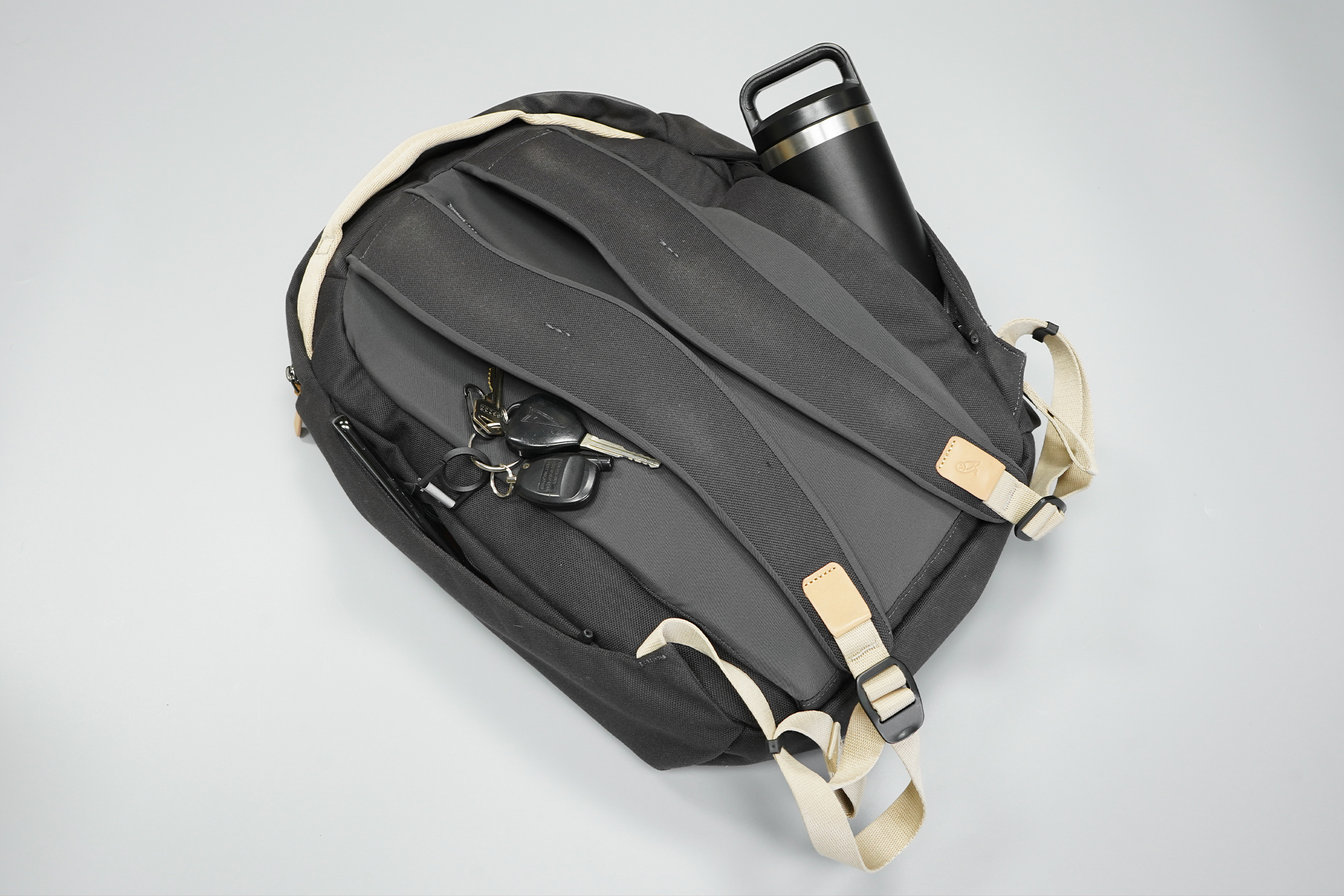 Bellroy Transit Workpack | No need to go overboard, the simple harness system is enough for daypack duties