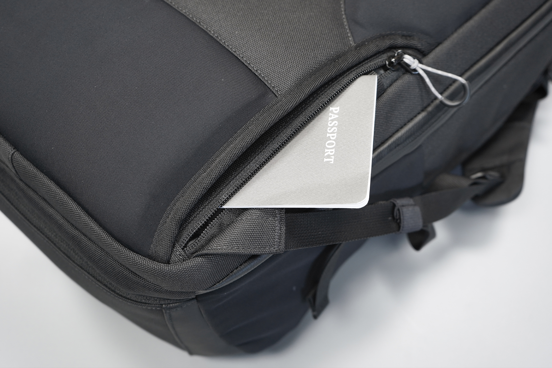 Tropicfeel Shell Travel Backpack | A security pocket to protect your important travel documents
