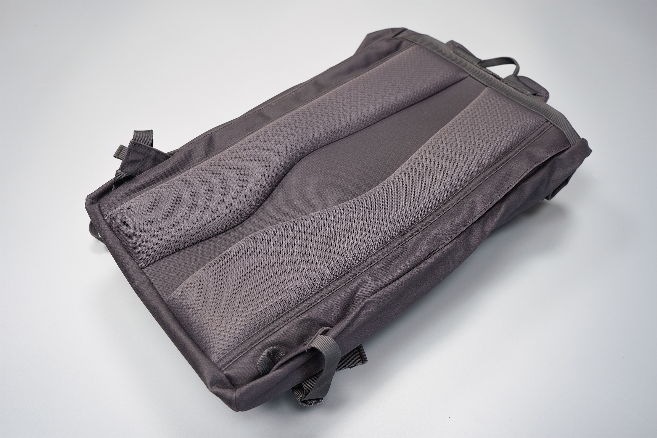 Millican Smith Roll Pack 18L   Foam-padded back panel with an air channel