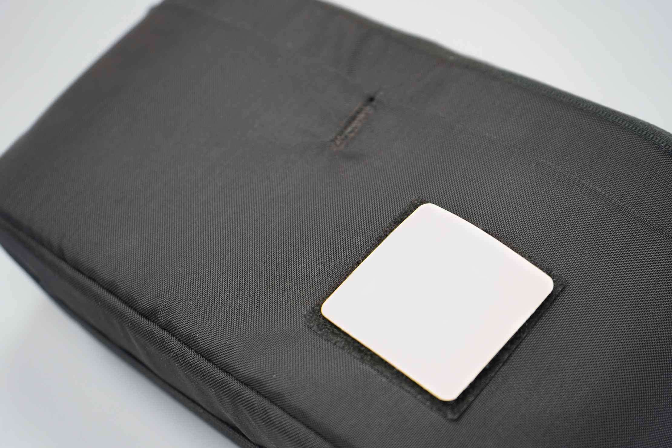 EVERGOODS Civic Access Pouch 2L | It's black, and so is the EVERGOODS logo underneath