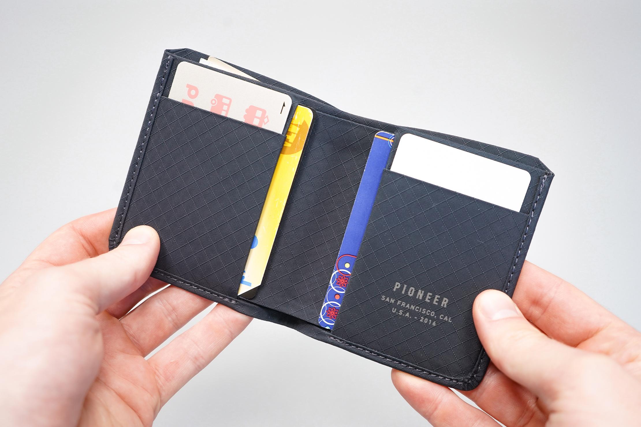 Pioneer Altitude Billfold Wallet Card Pockets