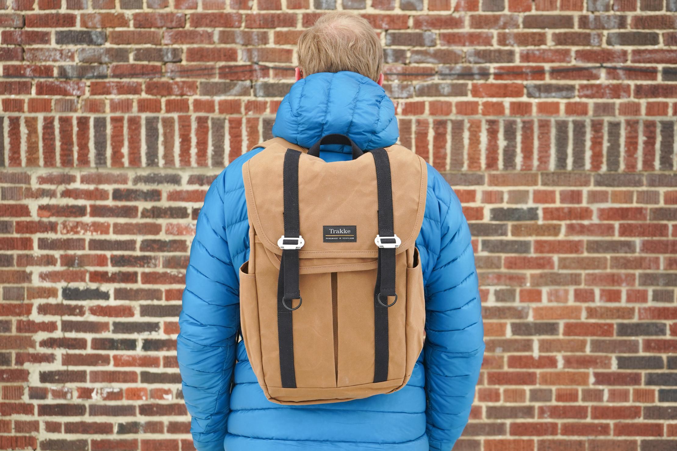 Trakke Bannoch | Using the Backpack in Detroit
