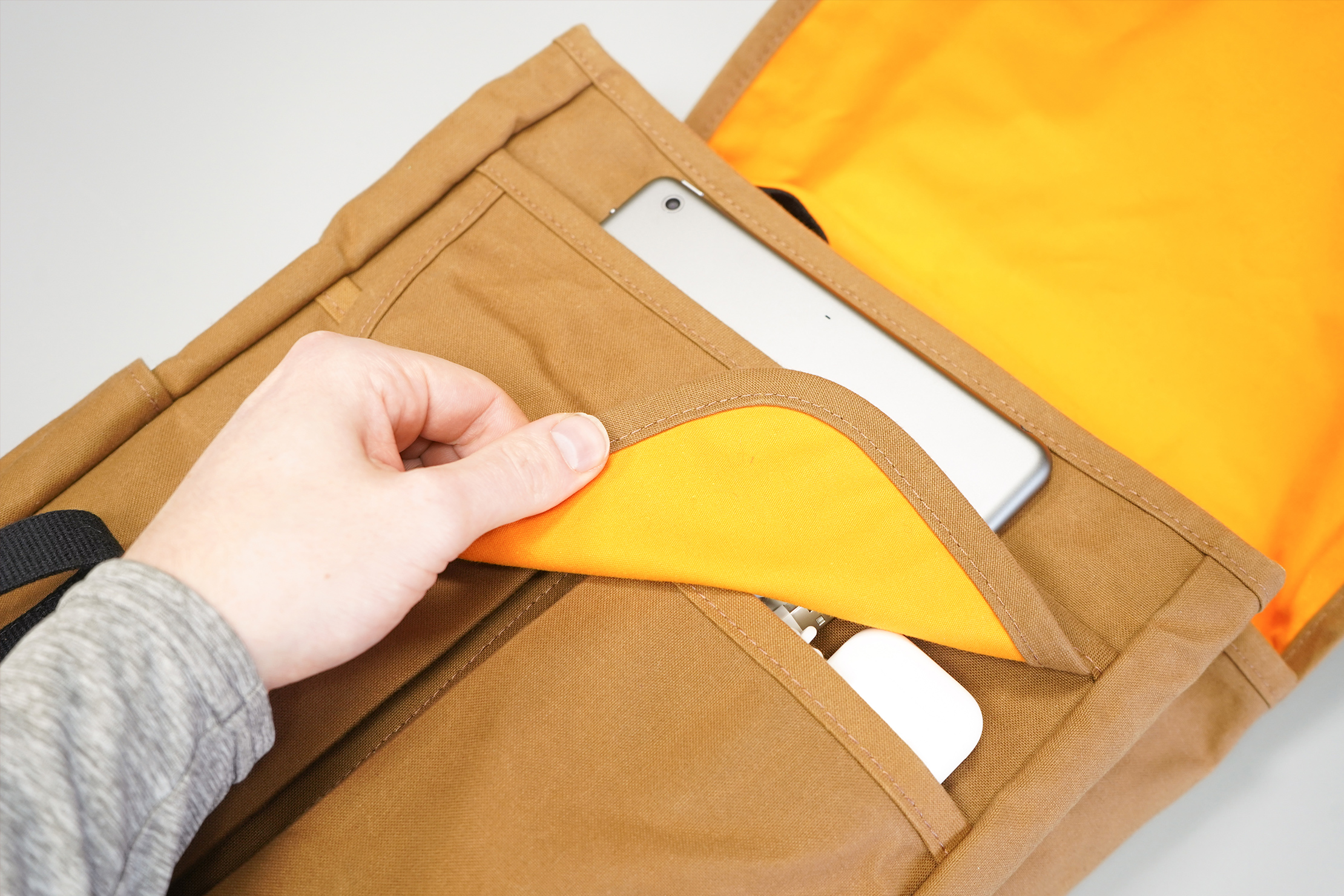 Trakke Bannoch | The front pockets offer good organization though they're underneath flaps