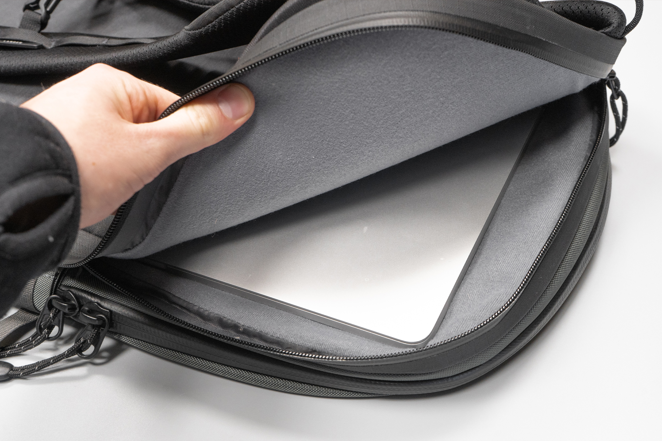 Lander Commuter Backpack 25L | The Crash Pad has good cushioning—even towards the front