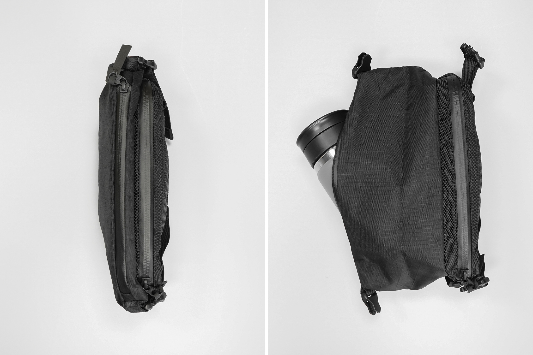 CODEOFBELL ANNEX CARRIER | Keep it slim or expand it to fit a 500 ml bottle