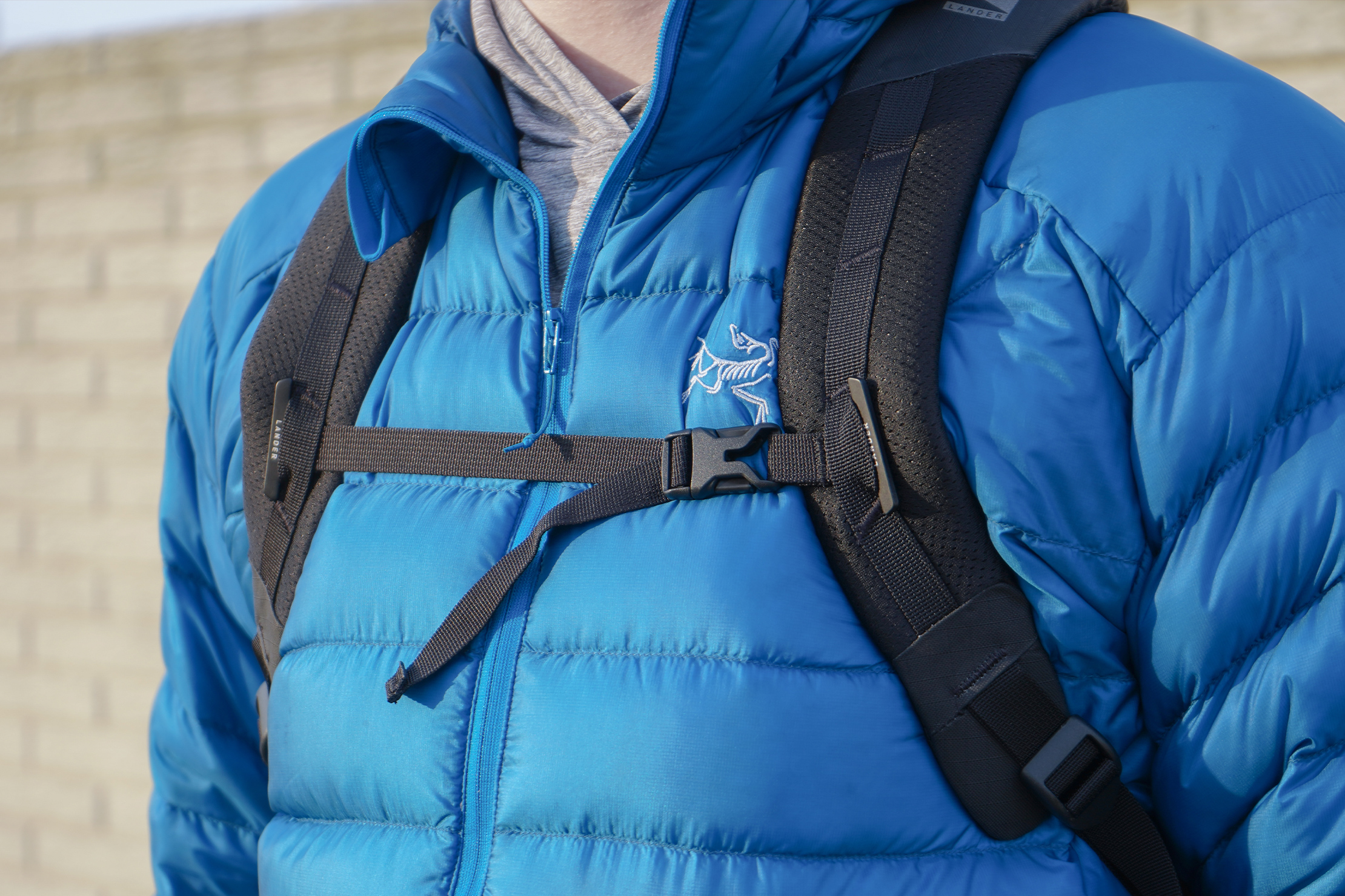Lander Commuter Backpack 25L | The sternum strap's anchor can come loose