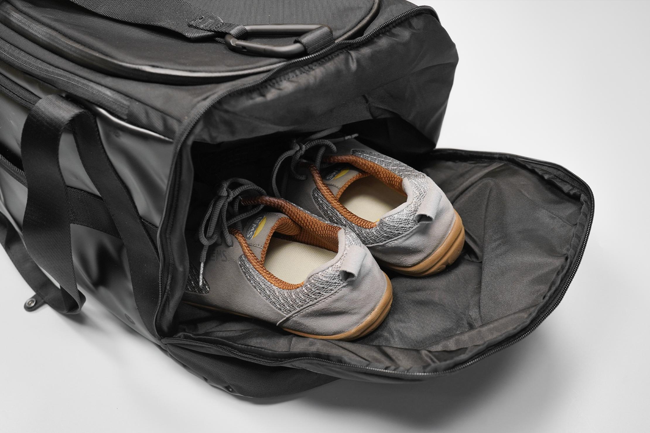 lululemon More Miles Duffle Shoe Compartment