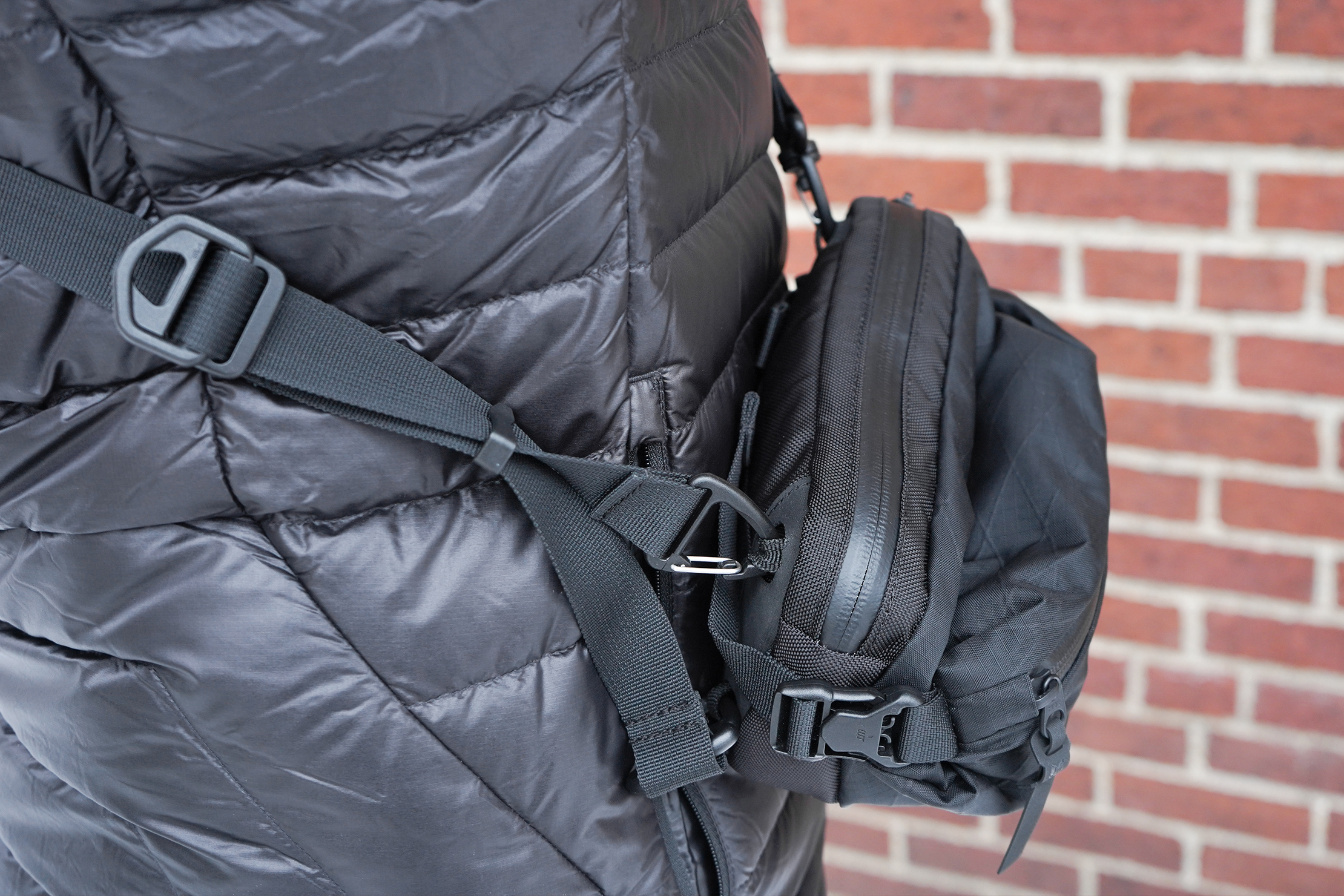 CODEOFBELL ANNEX CARRIER | There's some twisting along this part of the strap