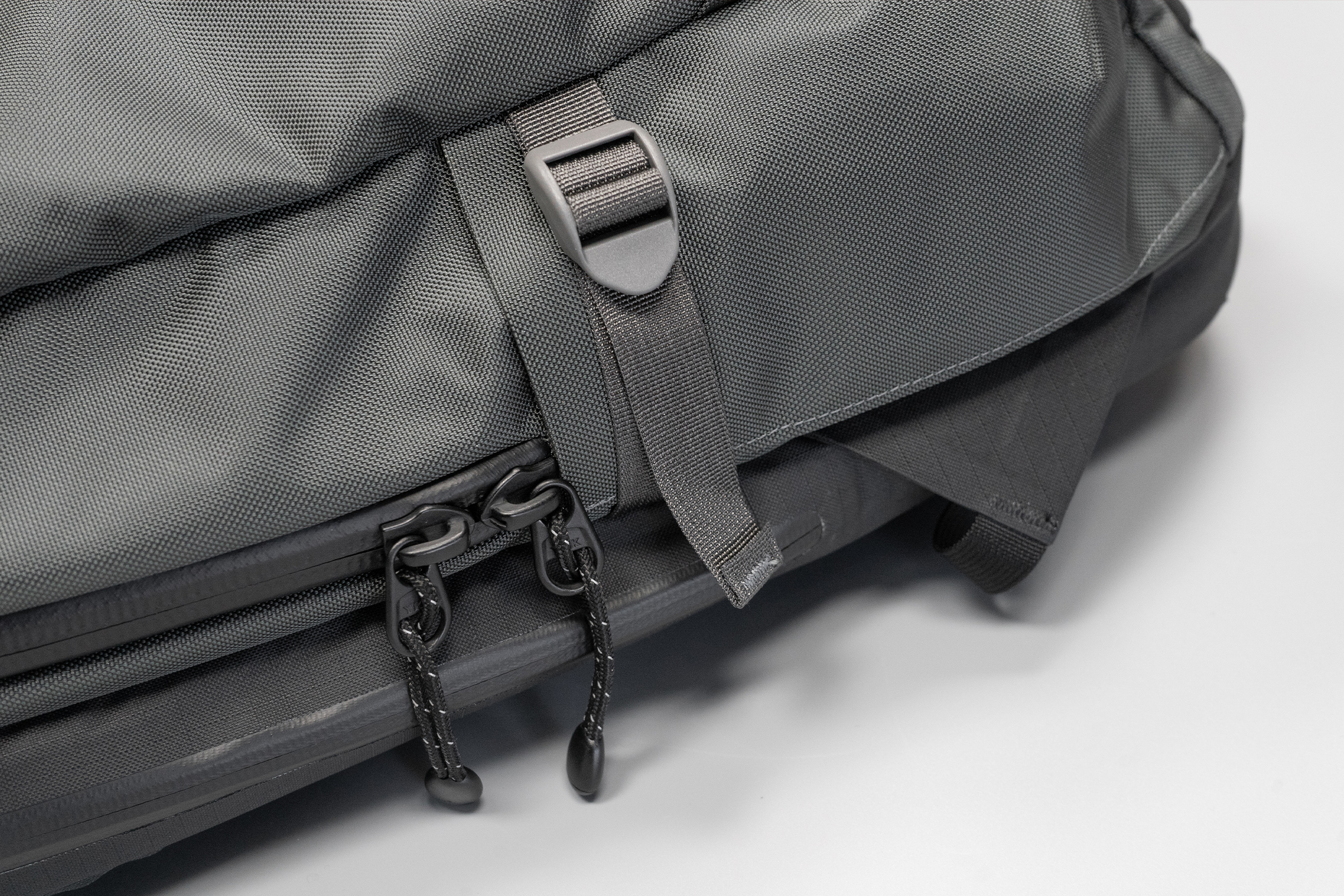 Lander Commuter Backpack 25L | DWR-coated CORDURA EcoMade Nylon, YKK zippers, and Woojin Hardware—it's tough stuff